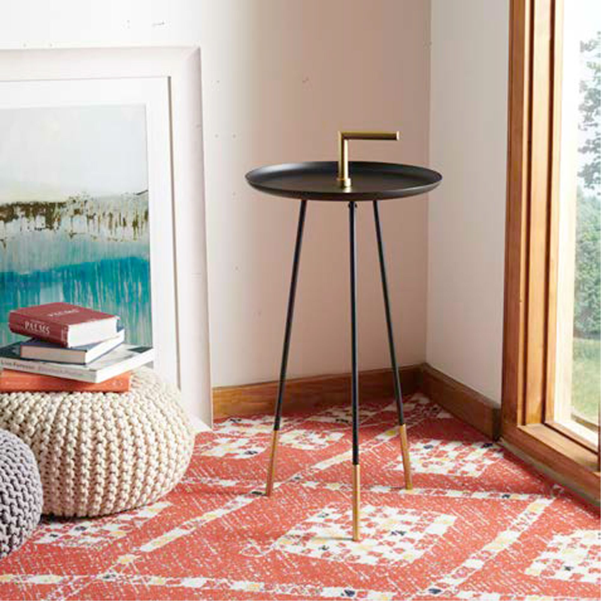 Lunt Handle End Table