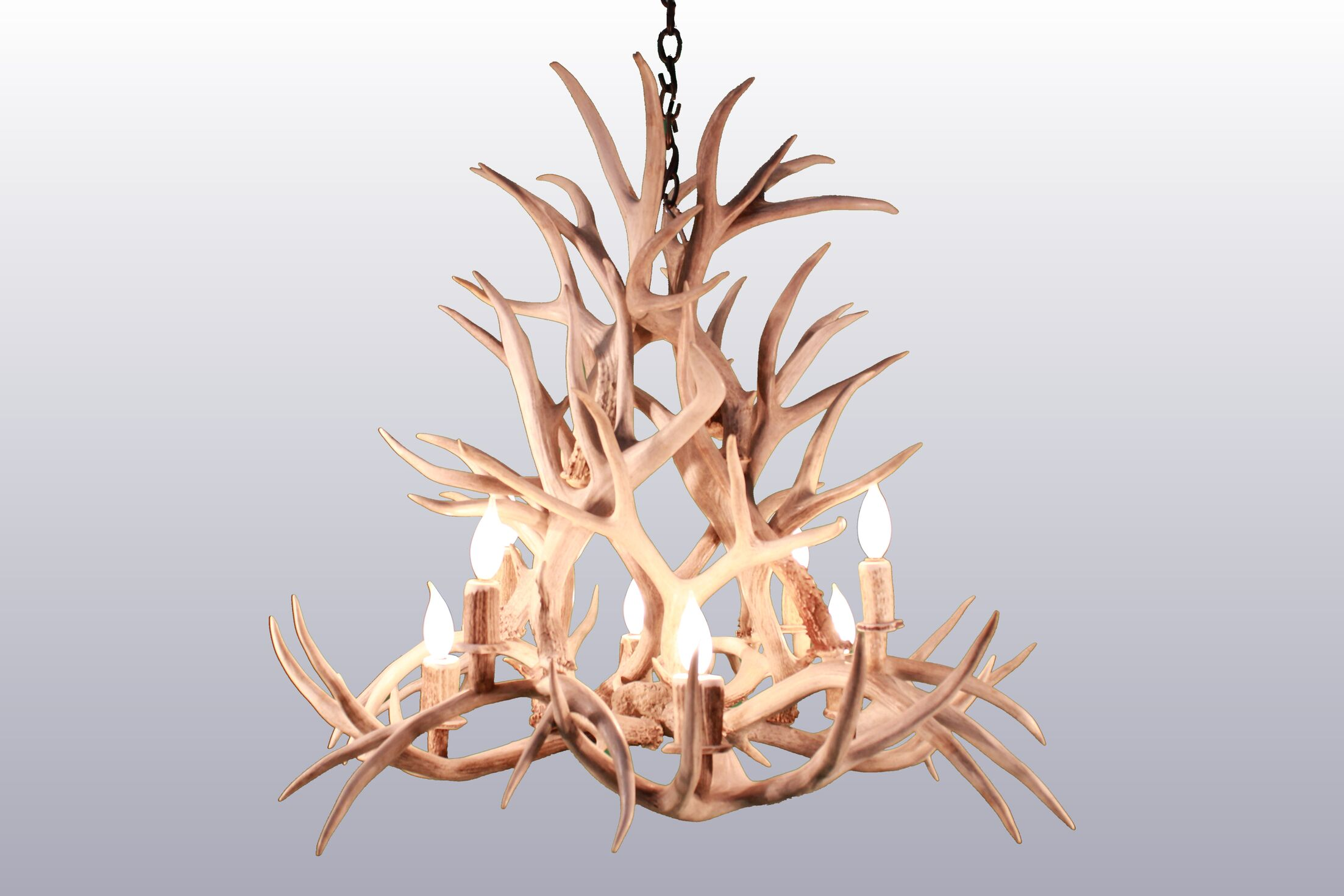 Bowes 8-Light Candle-Style Chandelier