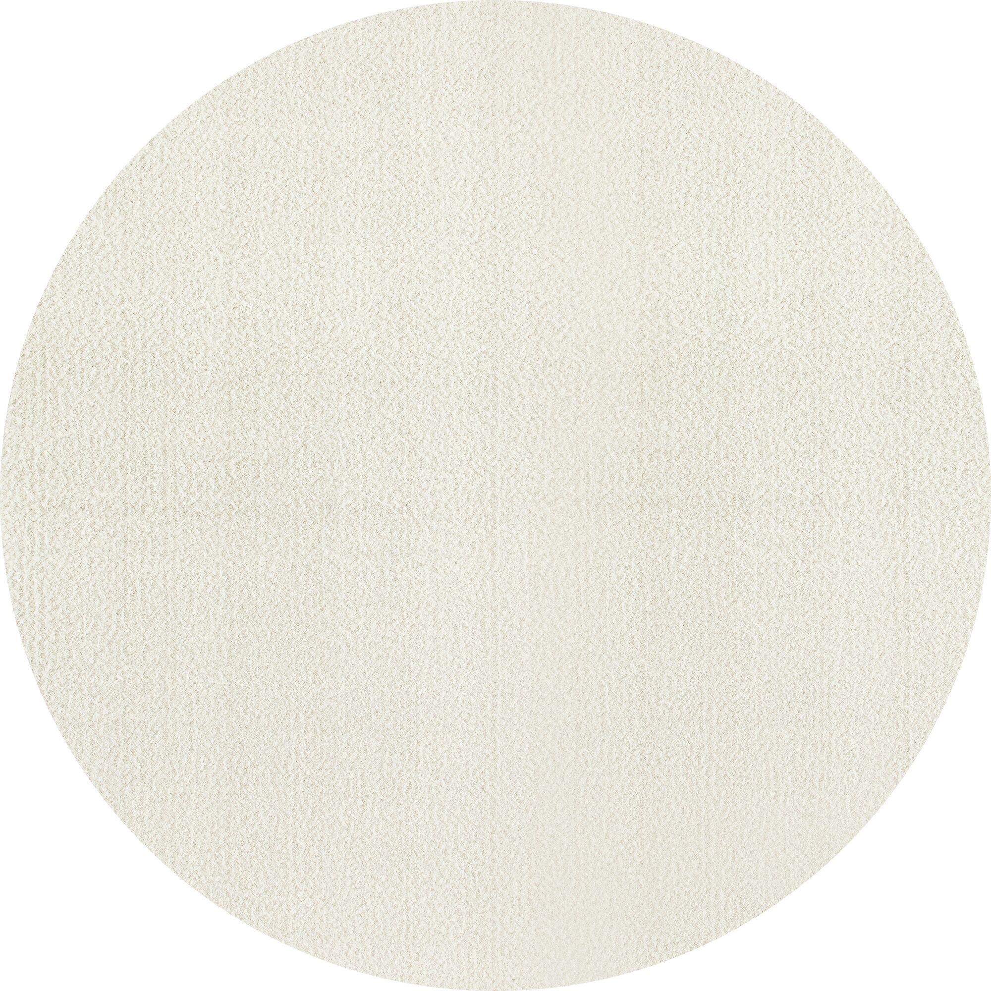 Rangel Cream Area Rug Rug Size: Round 7' 10