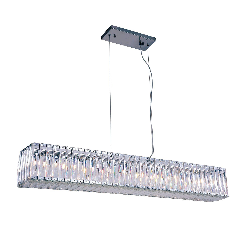 Luker 11-Light Kitchen Island Pendant Bulb Type: LED