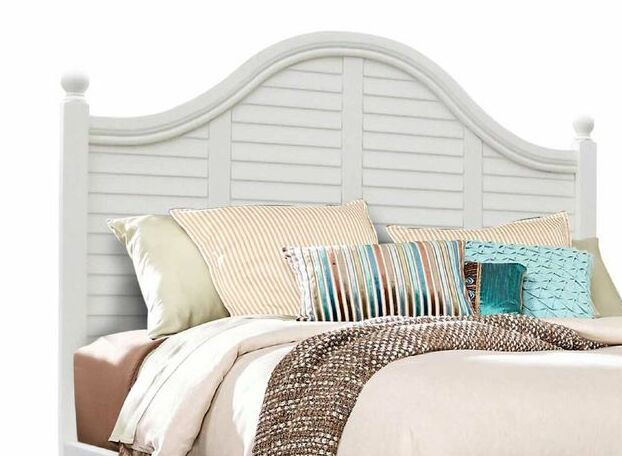 Friedrich Panel Headboard Size: Twin, Color: Ocean-Blue