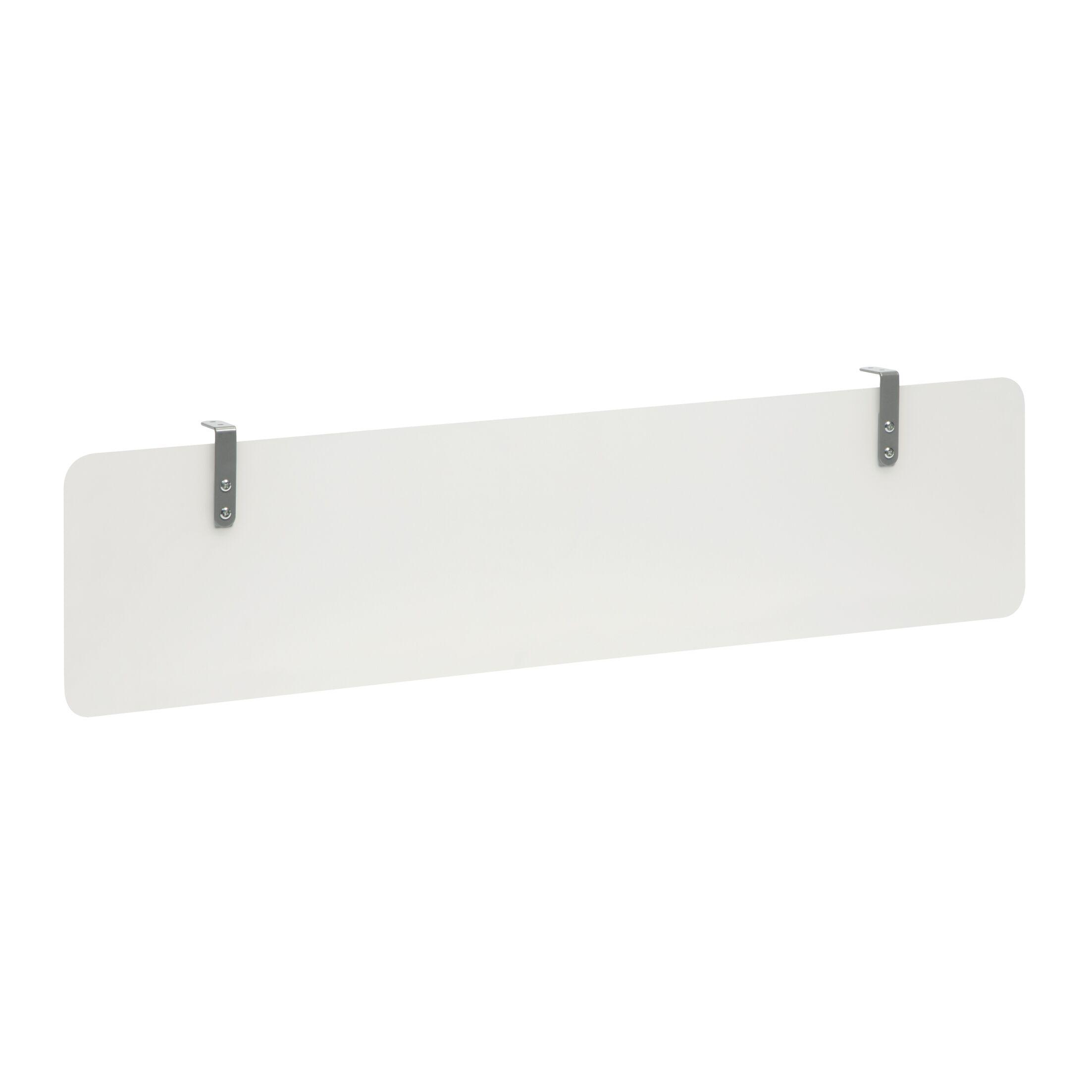 Gerth Plastic Modesty Desk Privacy Panel Size: 12