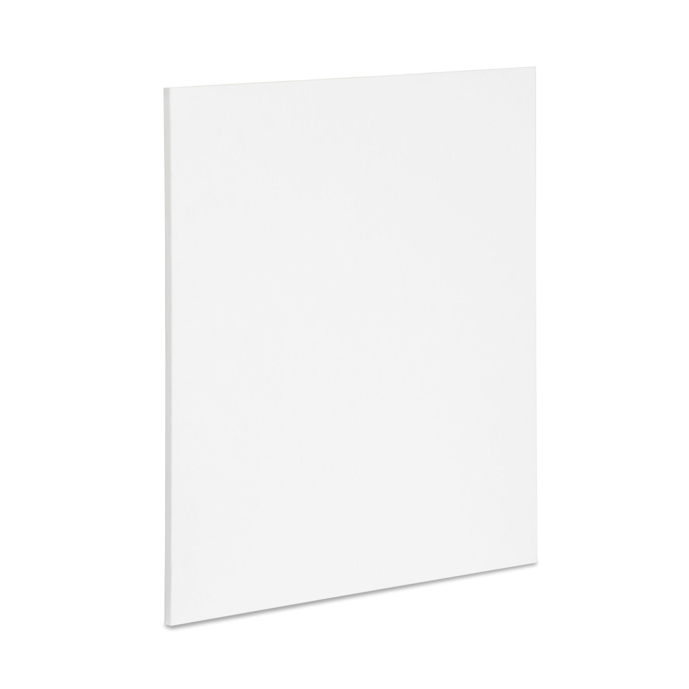Gerth Desk End Leg Panel Finish: White, Size: 27