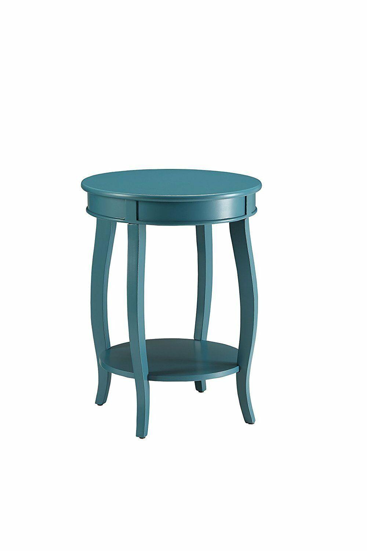 Hundt Modern End Table Color: Teal