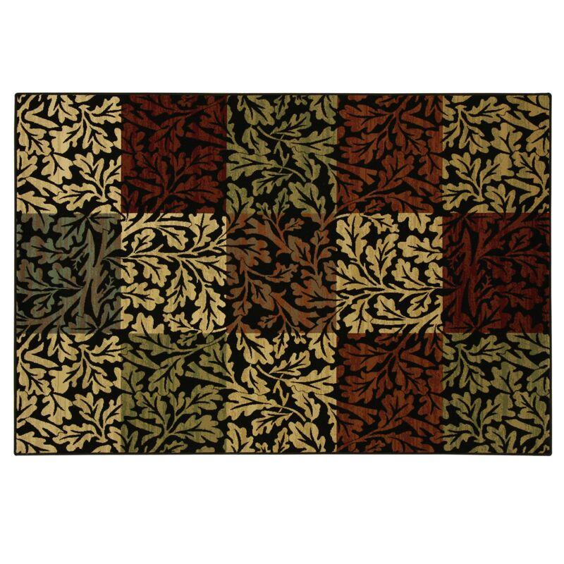 Spaulding Leaf Area Rug Rug Size: Rectangle 7'7