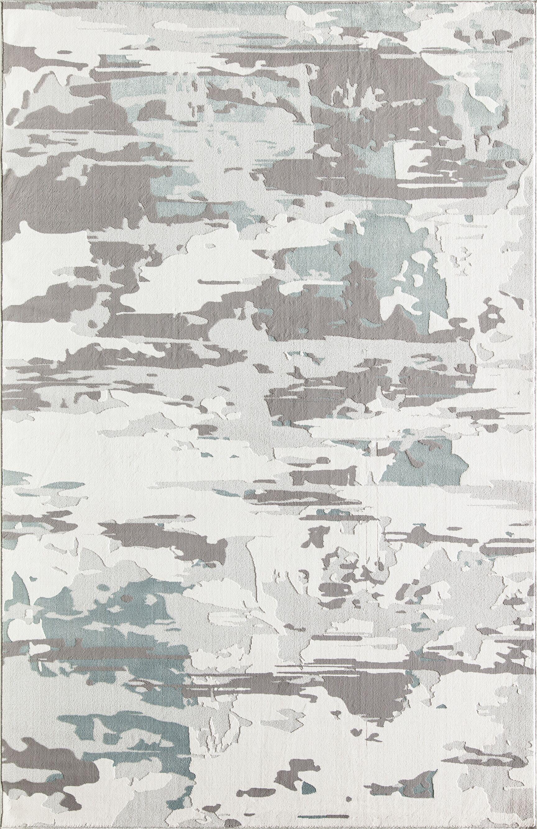 Delancey Mod Gray Area Rug Rug Size: Rectangle 5' x 7'