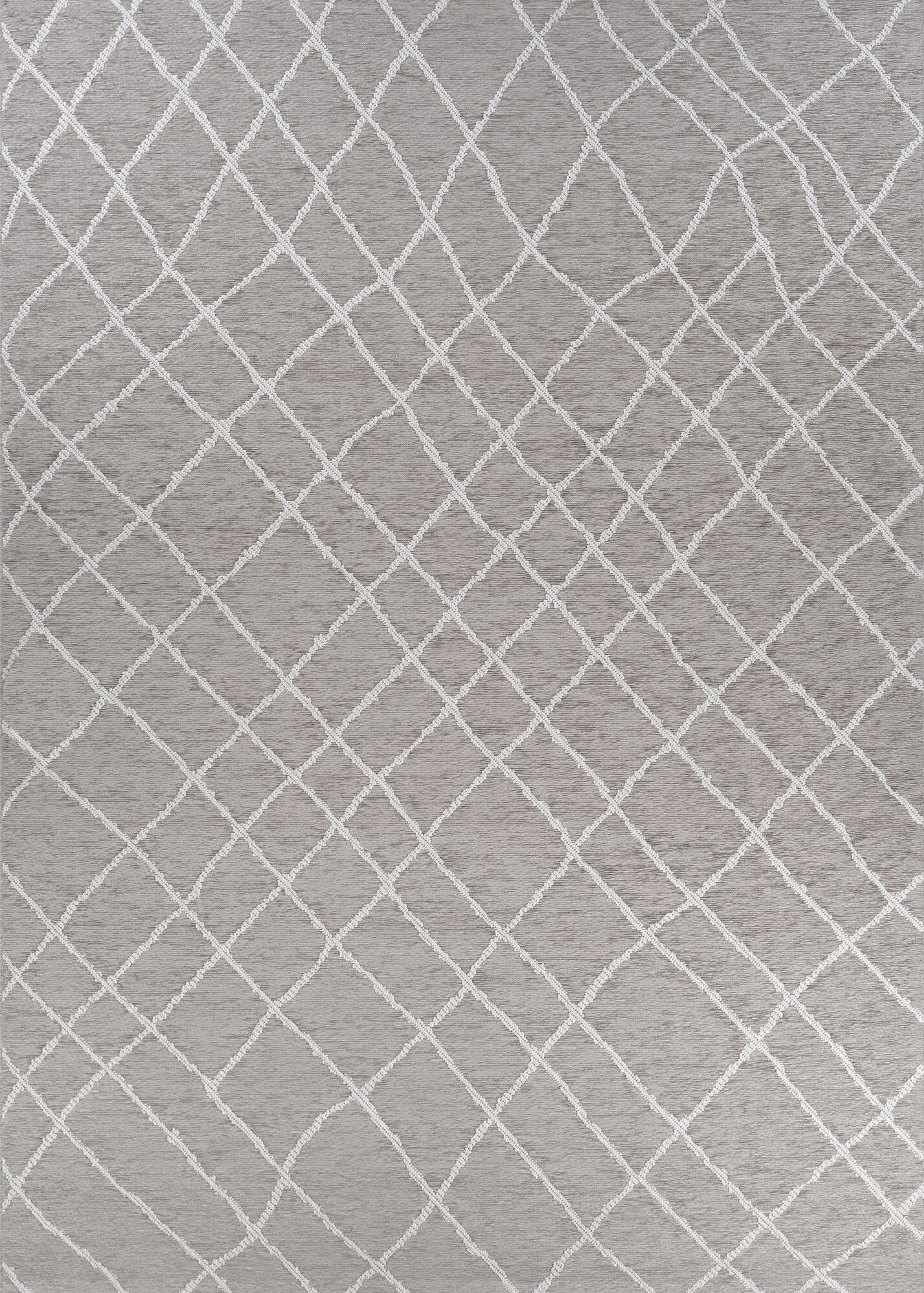 Temme Gray Indoor/Outdoor Area Rug Rug Size: Rectangle 6'4