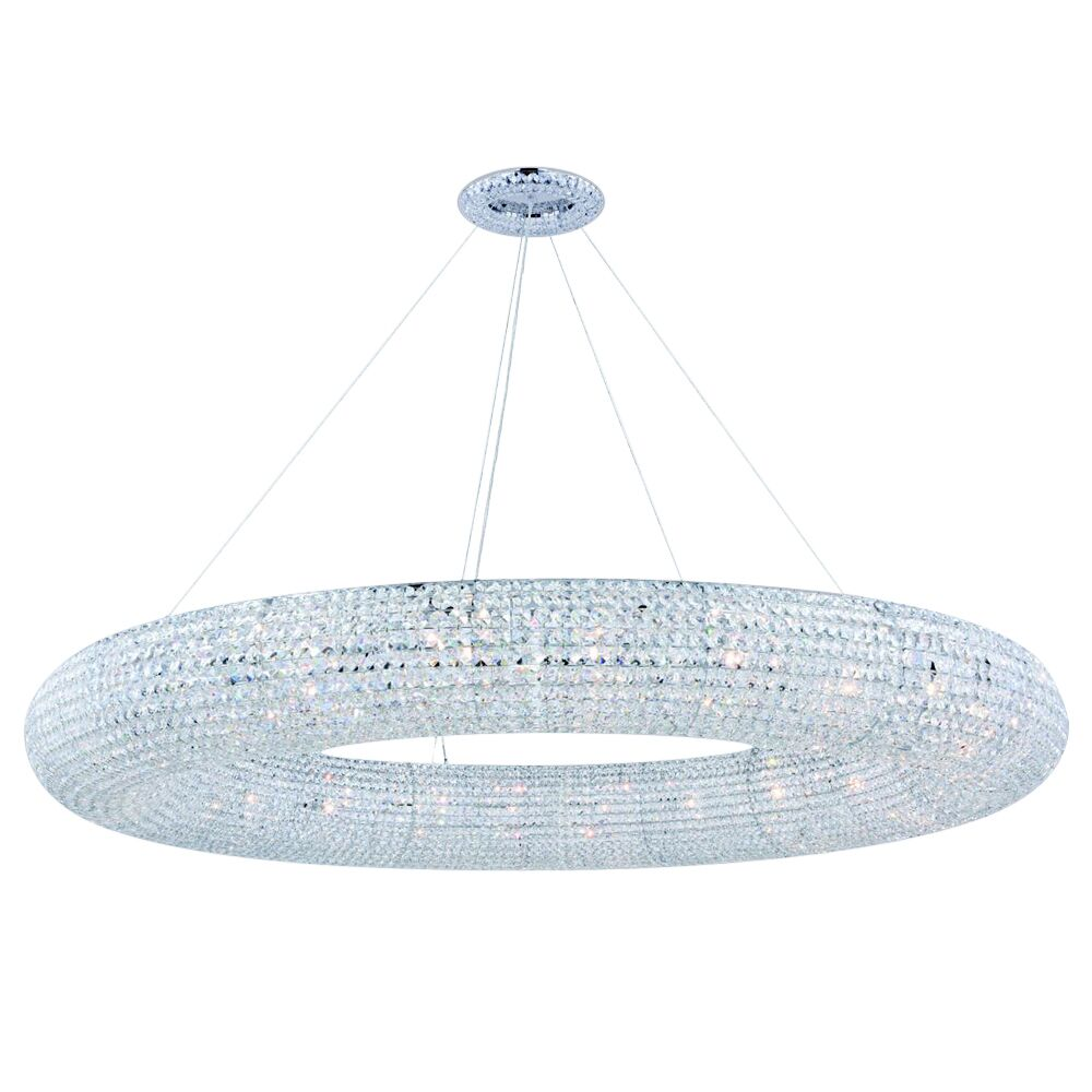 Lowenthal 30-Light Crystal Chandelier Bulb Type: Incandescent