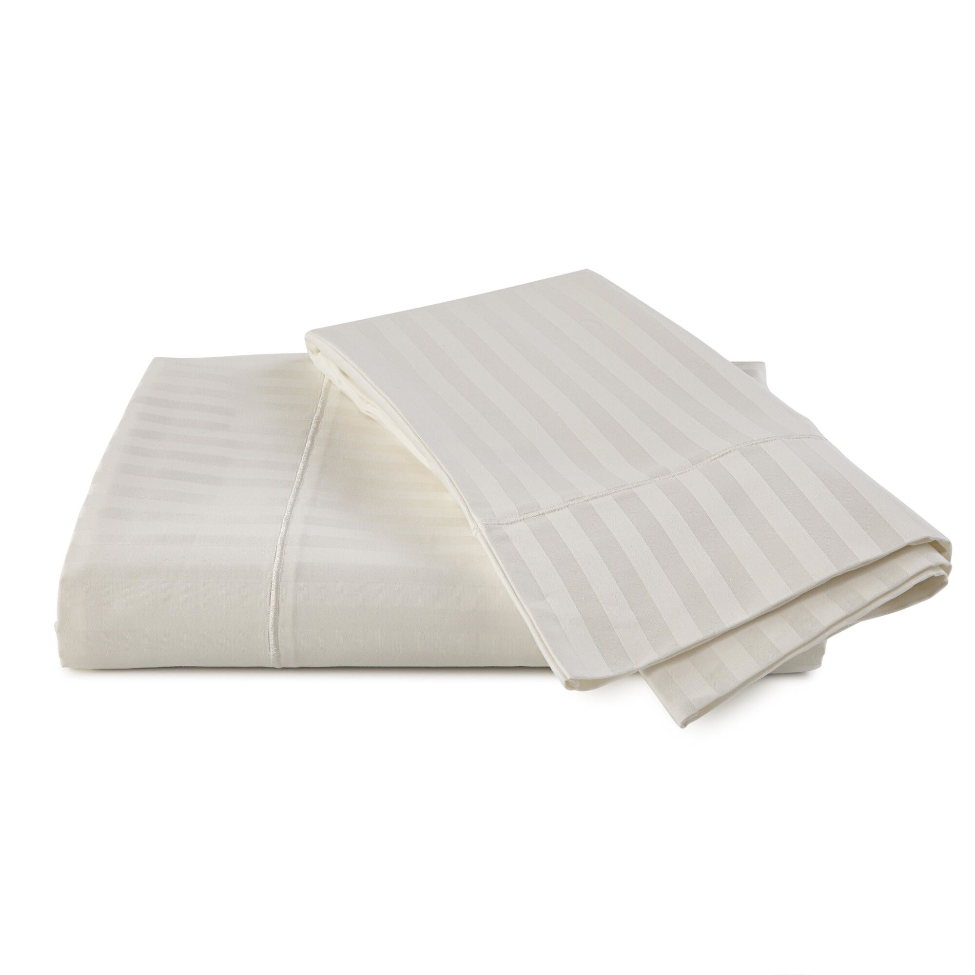 Supima Stripe 600 Thread Count 100% Cotton Sheet Set Size: King