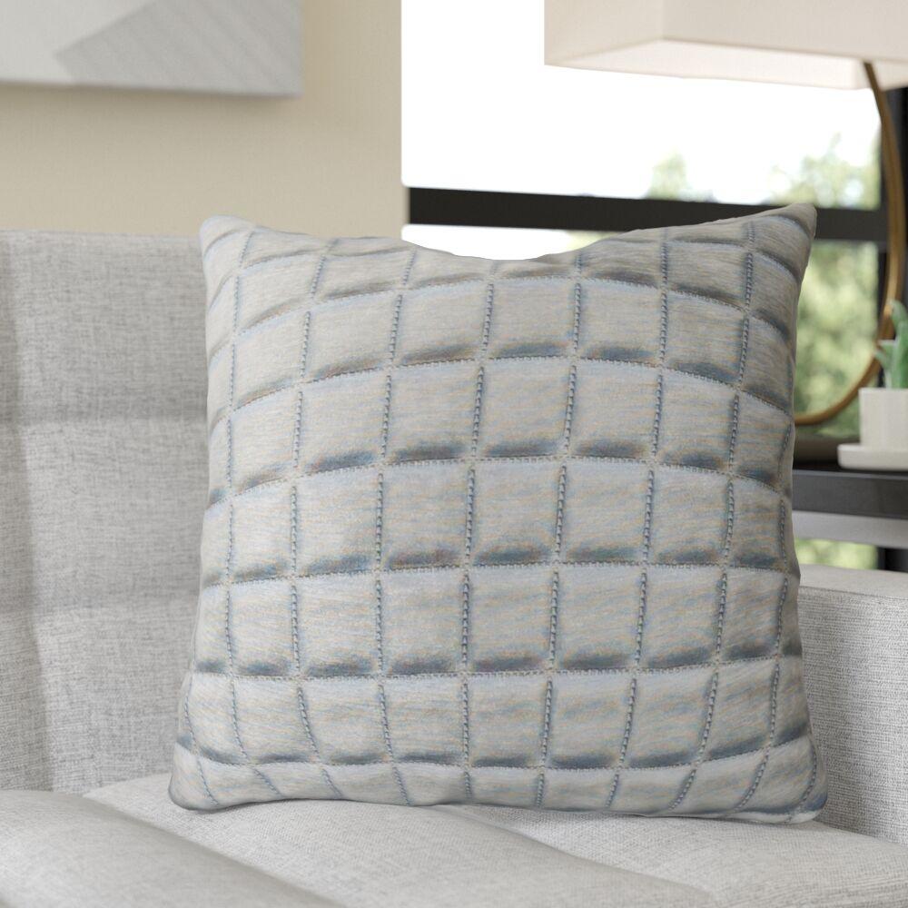 Read Luxury Throw Pillow Size: 12
