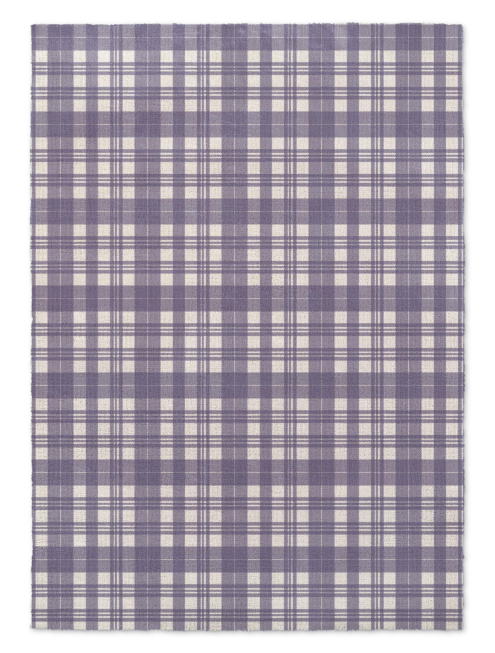 Montalto Light Purple Area Rug Rug Size: Rectangle 5' x 7'