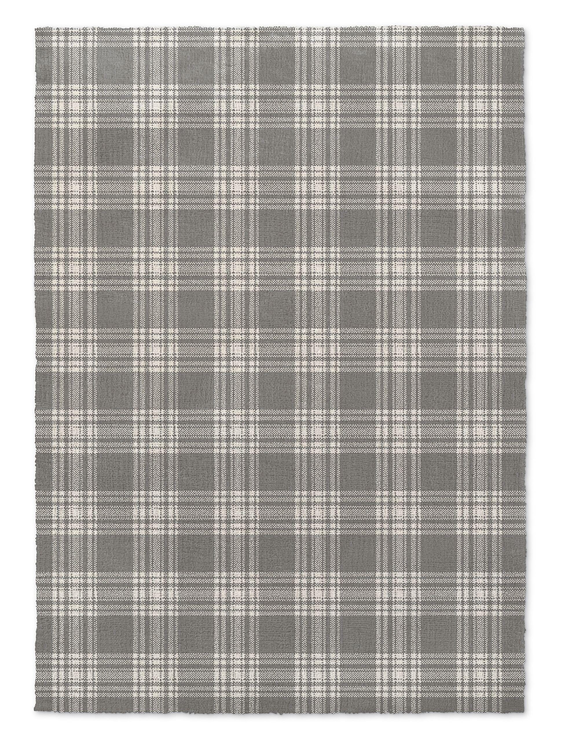 Montalvo Dark Gray Area Rug Rug Size: Rectangle 3' x 5'