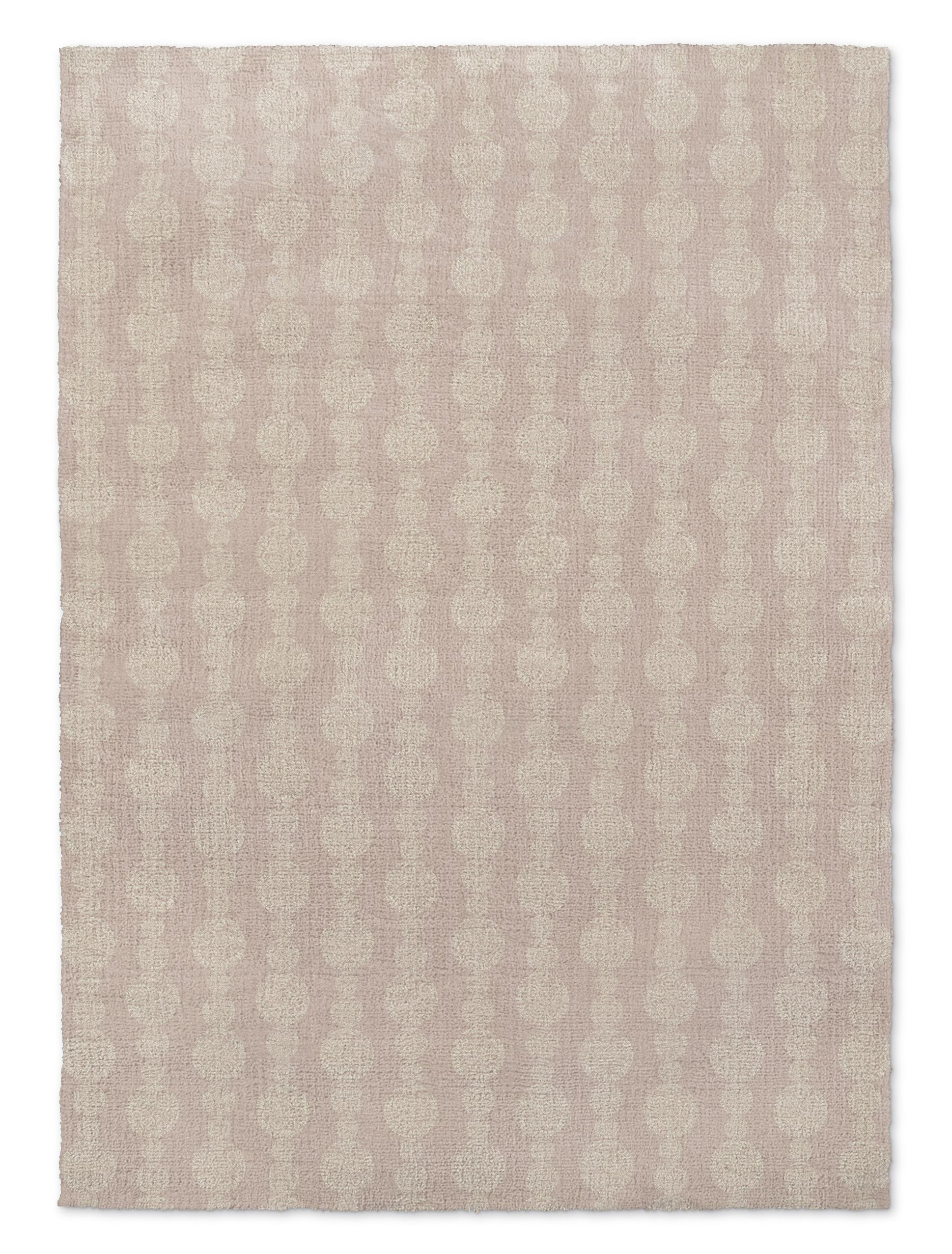Groce Pink/Ivory Area Rug Rug Size: Rectangle 2' x 3'