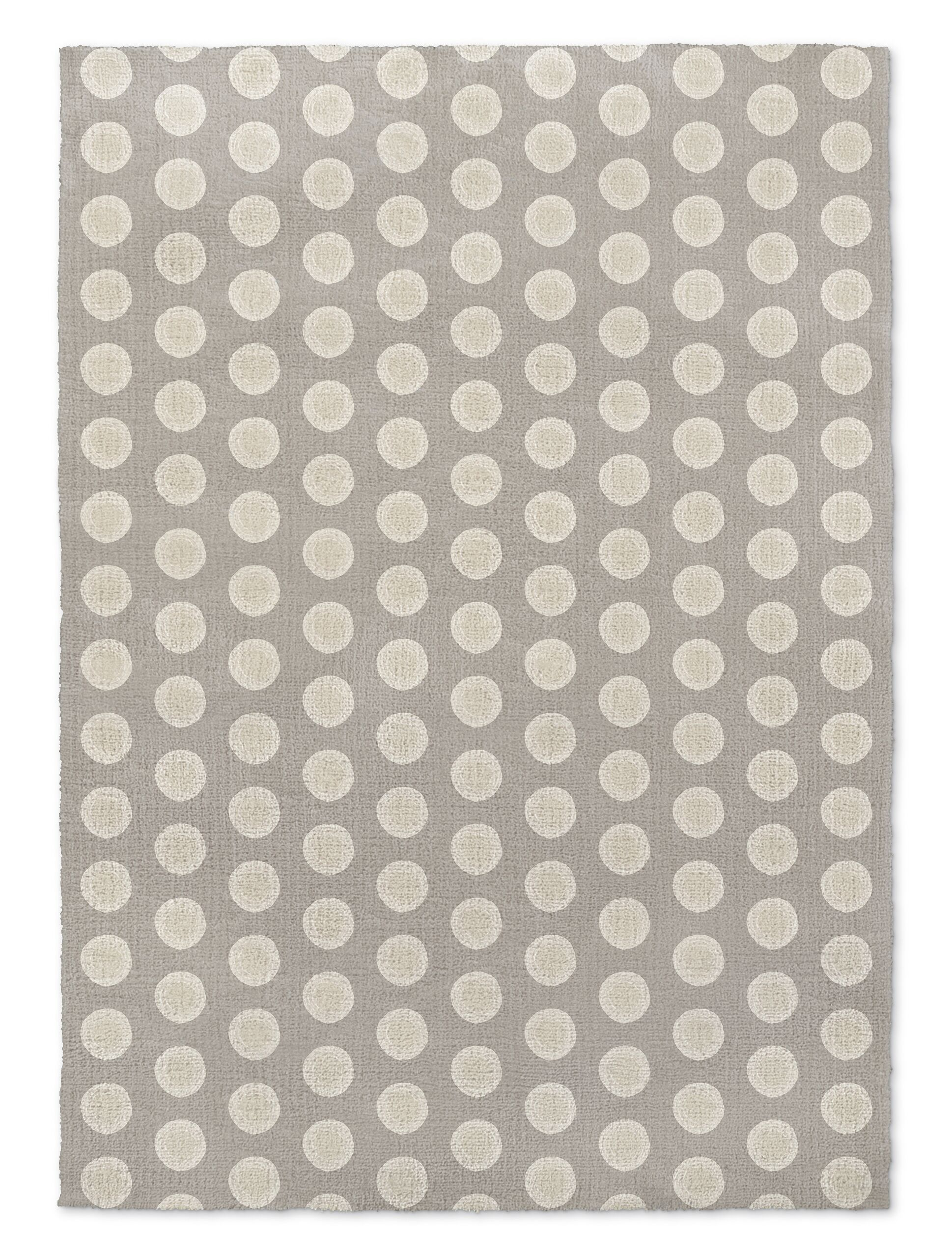 Hartin Gray Area Rug Rug Size: Rectangle 2' x 3'
