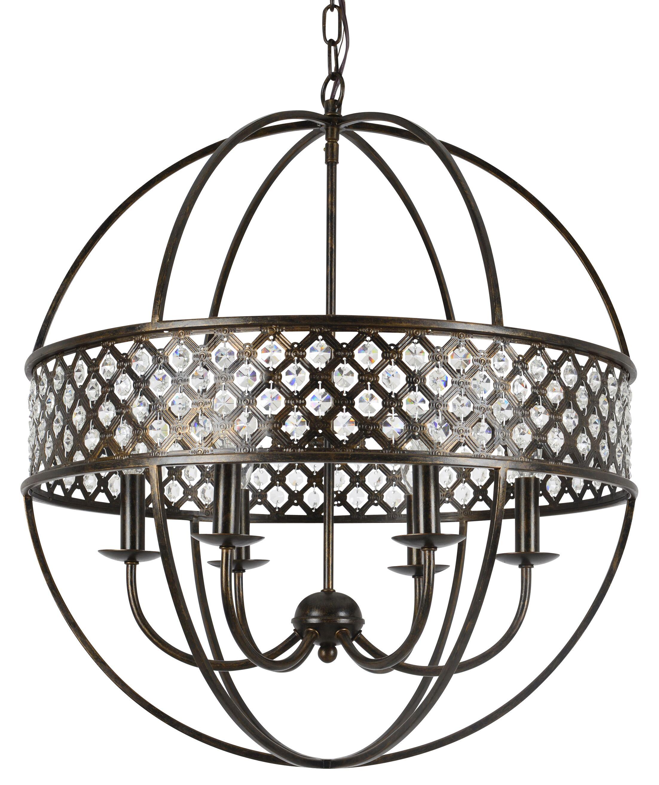 Catchings 6-Light Globe Chandelier