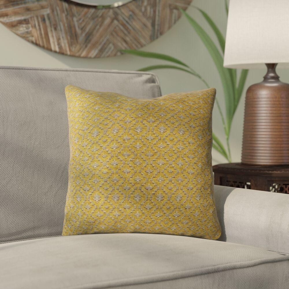 Monarrez Cleopatra Luxury Throw Pillow Size: 20