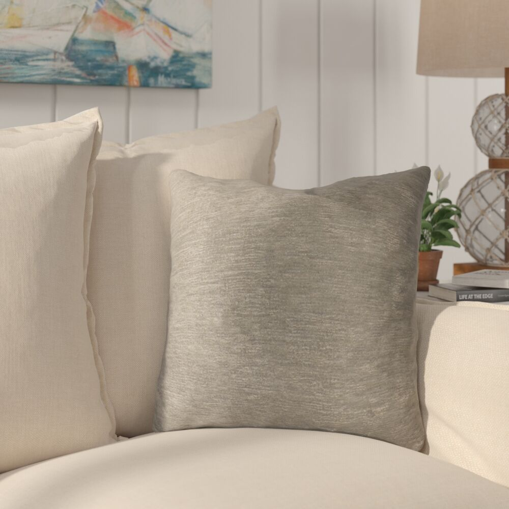 Causeway Luxury Throw Pillow Size: 20