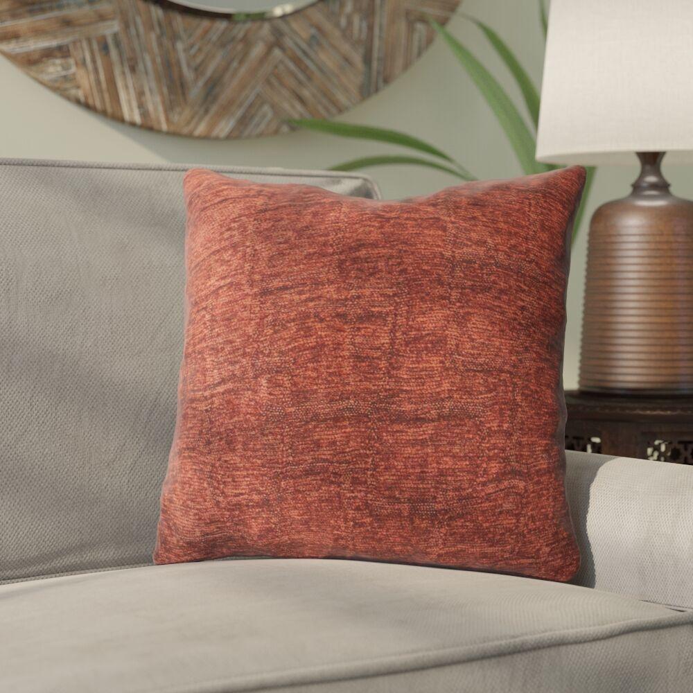 Pisano Luxury Throw Pillow Size: 24