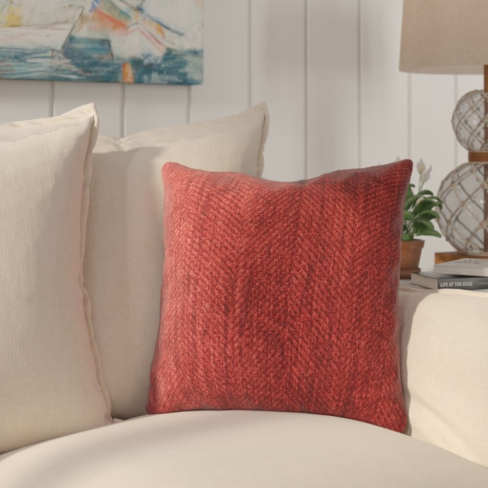 Cavitt Luxury Throw Pillow Size: 22