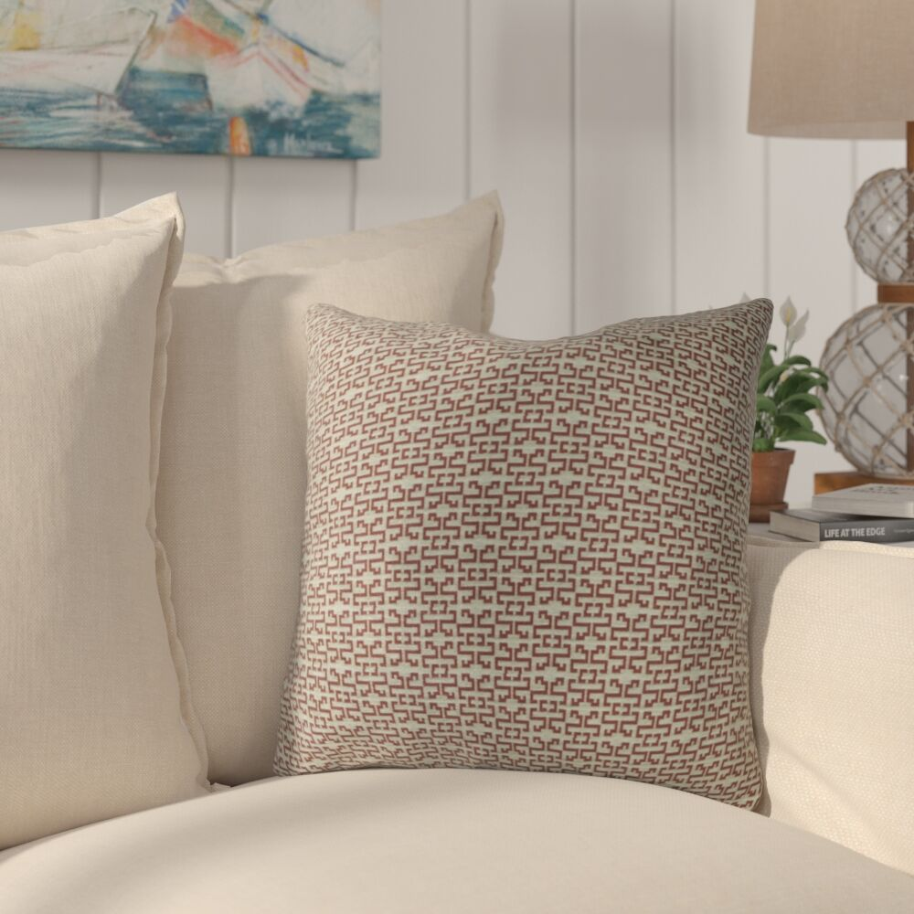 Cawley Luxury Throw Pillow Size: 20
