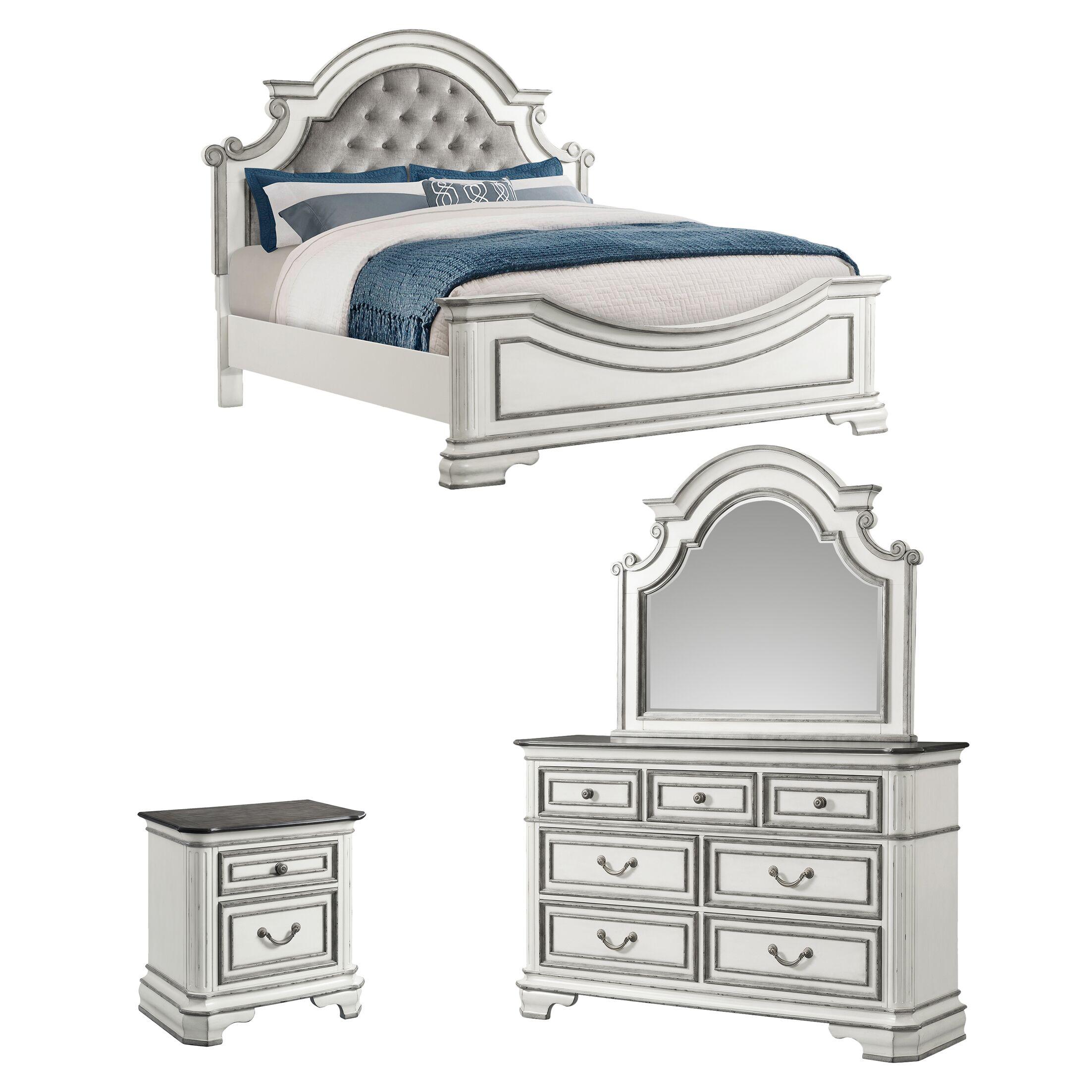 Newsom Panel Configurable Bedroom Set