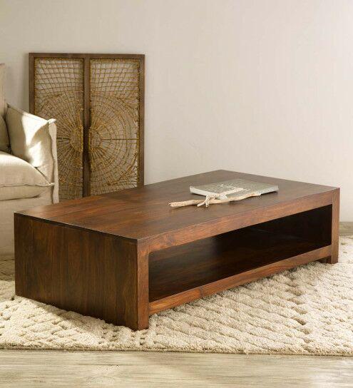 Brentford Sheesham Wood Coffee Table