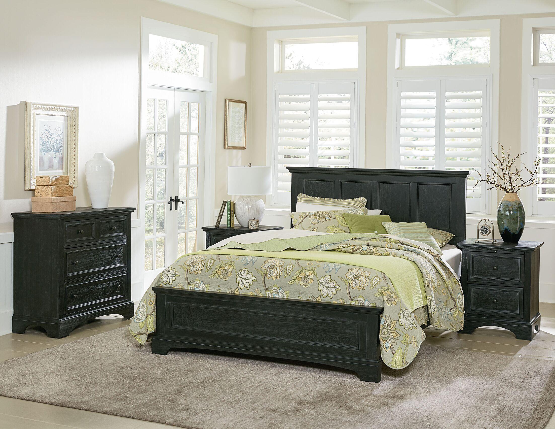 Cintron Panel 4 Piece Bedroom Set Size: King