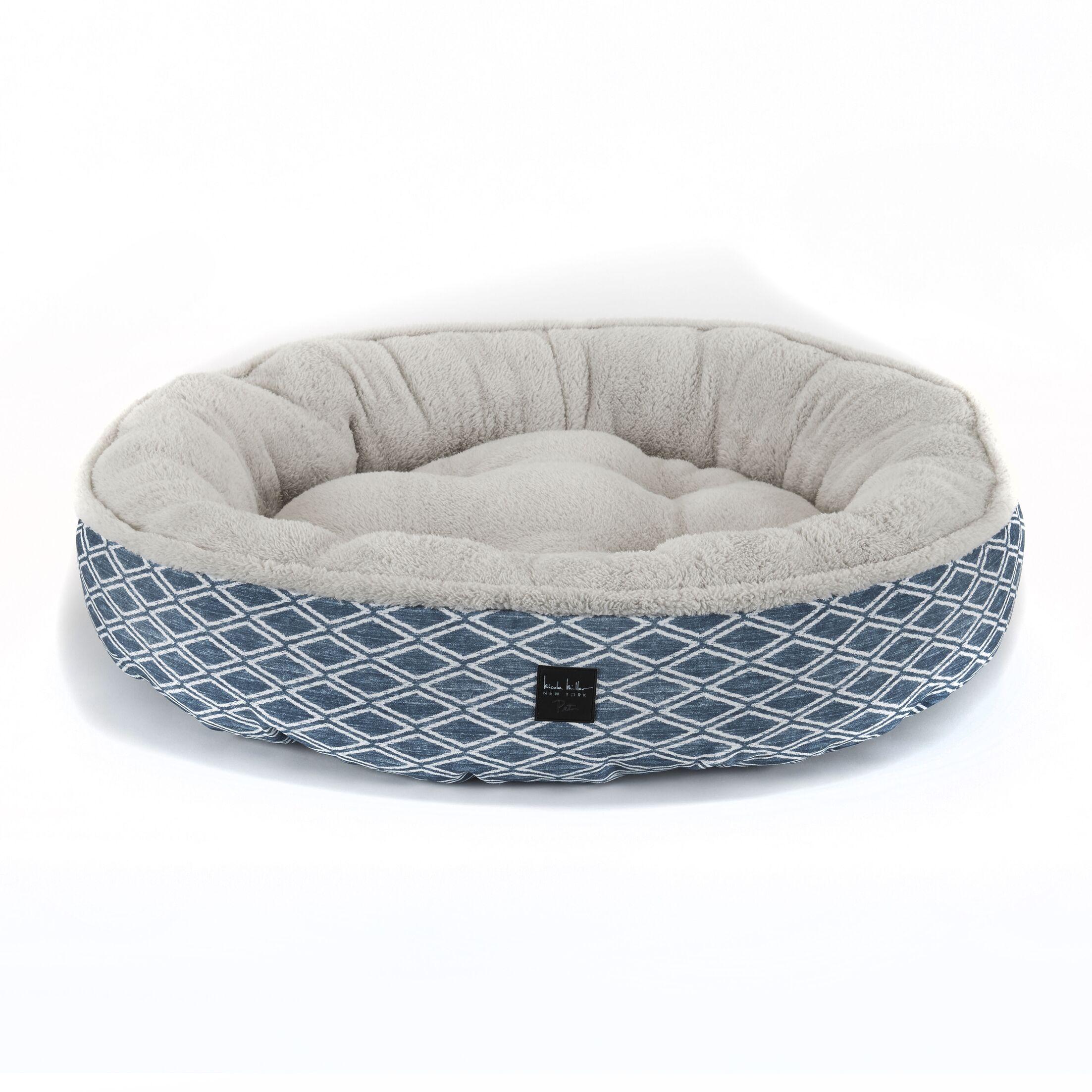 Comfy Pooch Dog Bolster Color: Blue