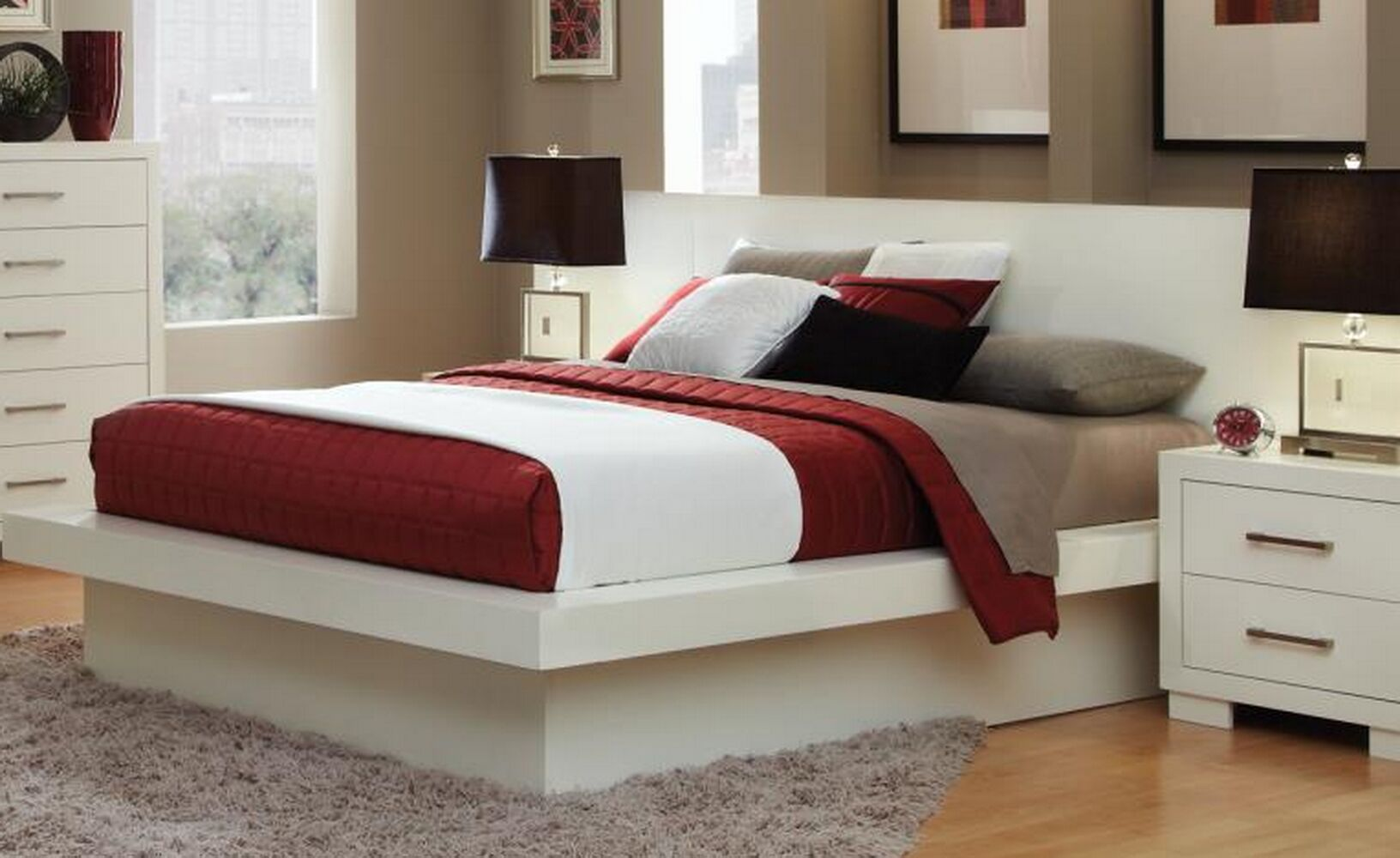 Hammes Platform Bed Size: California King