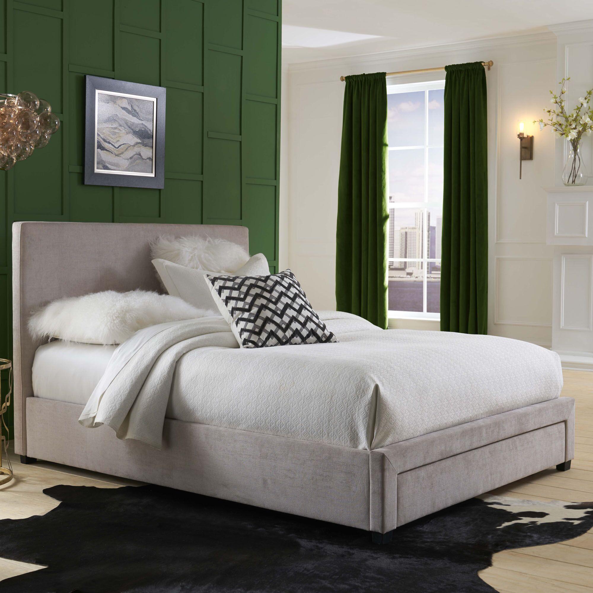 Fortin Upholstered Storage Platform Bed Size: King
