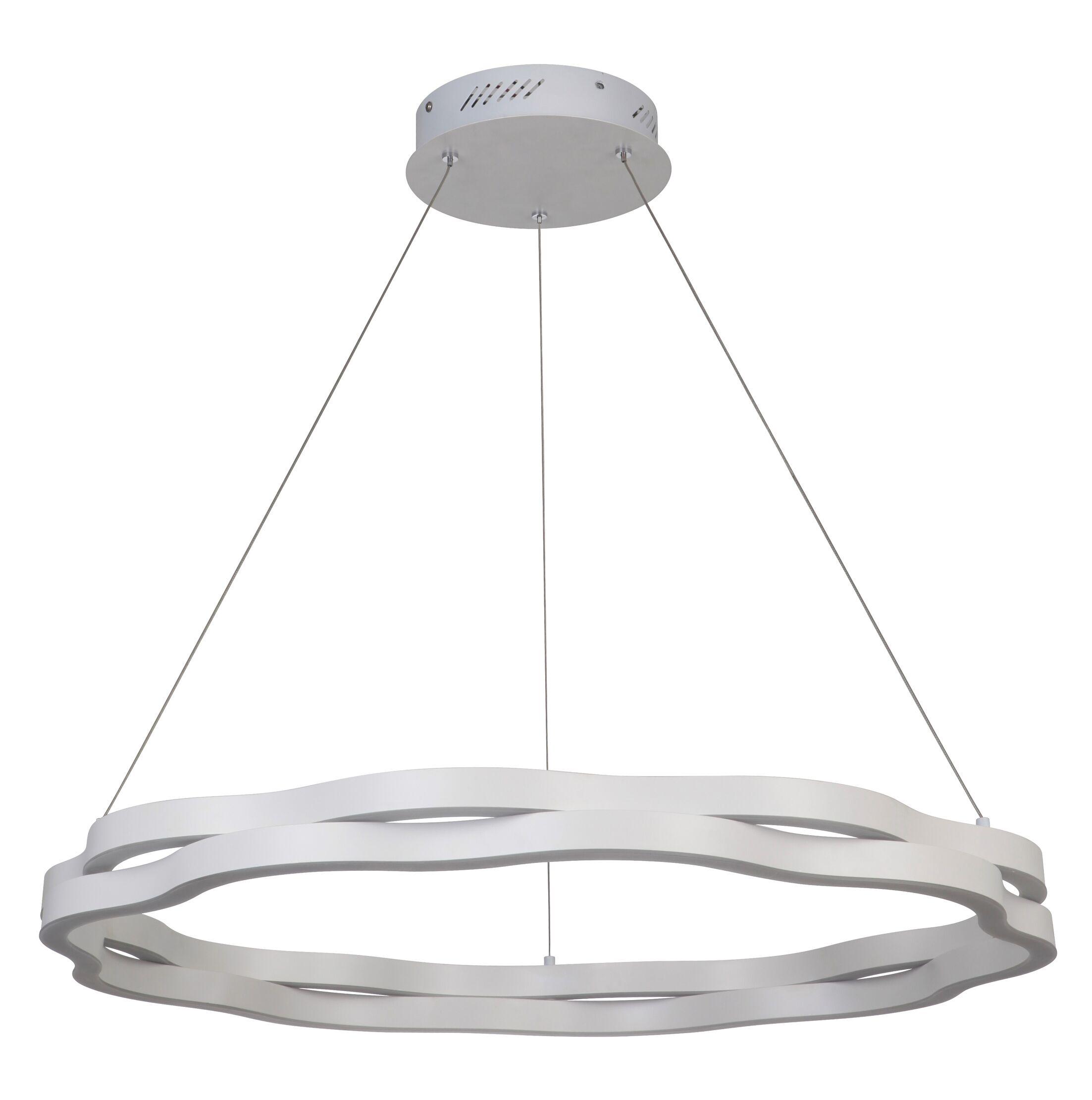 Belgica 1-Light  LED Geometric Pendant Size: 2.5