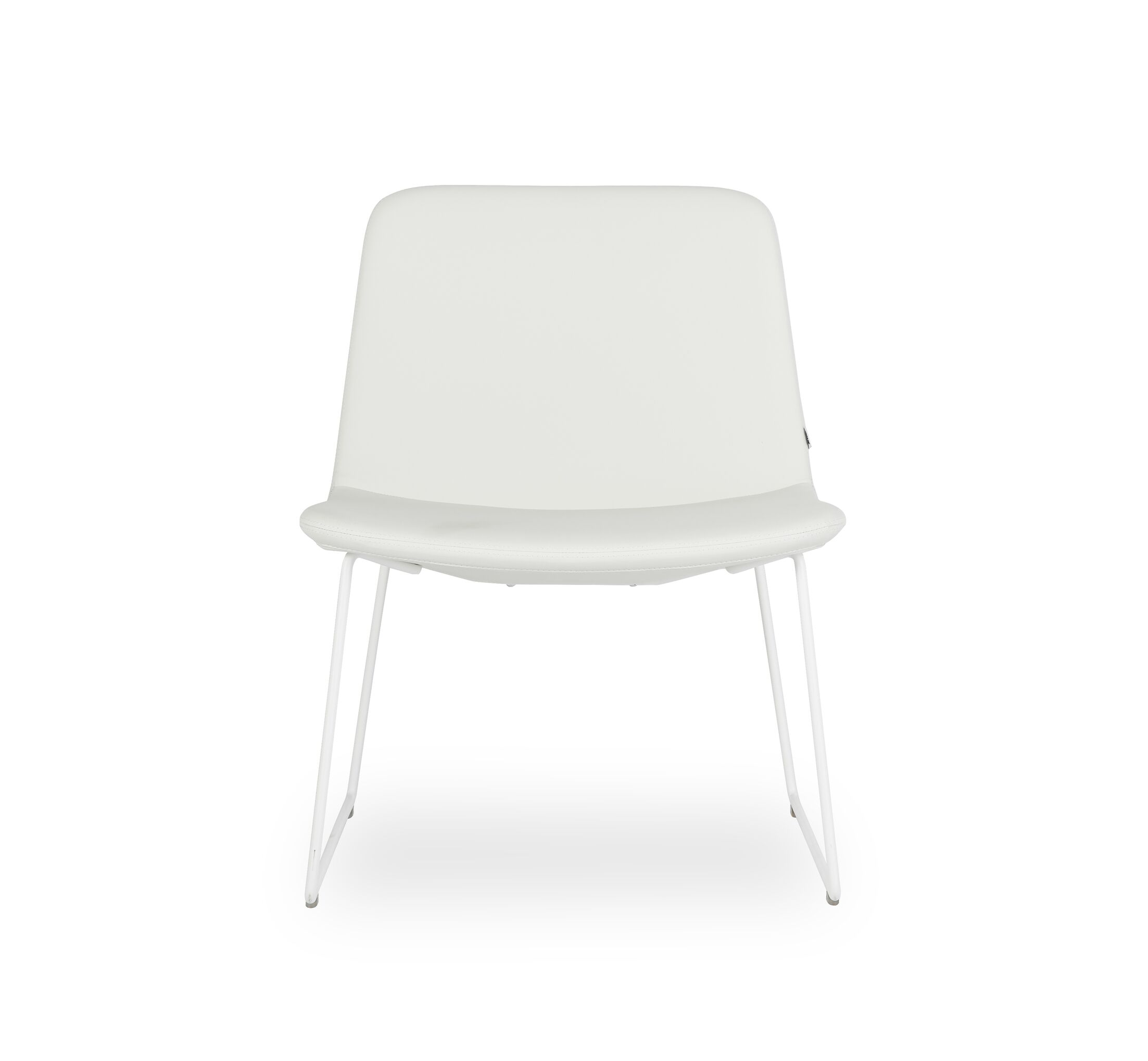 Fechteler Side Chair Seat Color: White, Finish: White