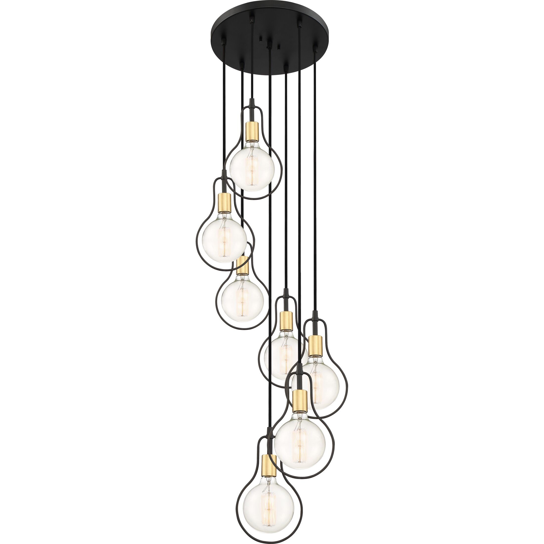 Thermopolis 7-Light Cluster Pendant