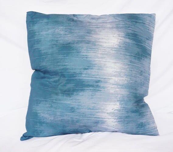 Sullins Sound Wave Cotton Throw Pillow Size: 18