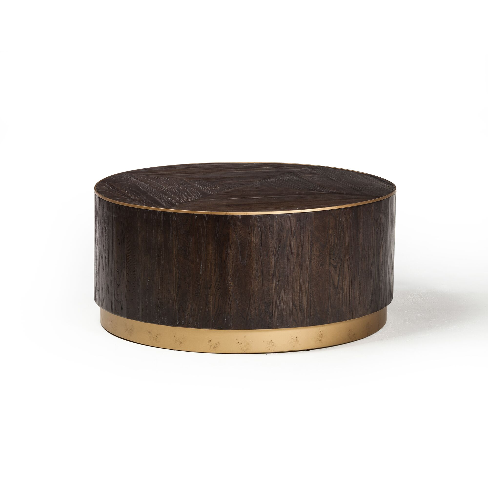 Lanz Drum Coffee Table