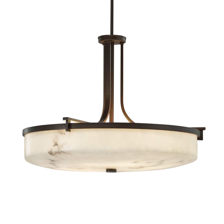 Keyon 6-Light Bowl Pendant Finish: Matte Black, Bulb Type: Dedicated LED