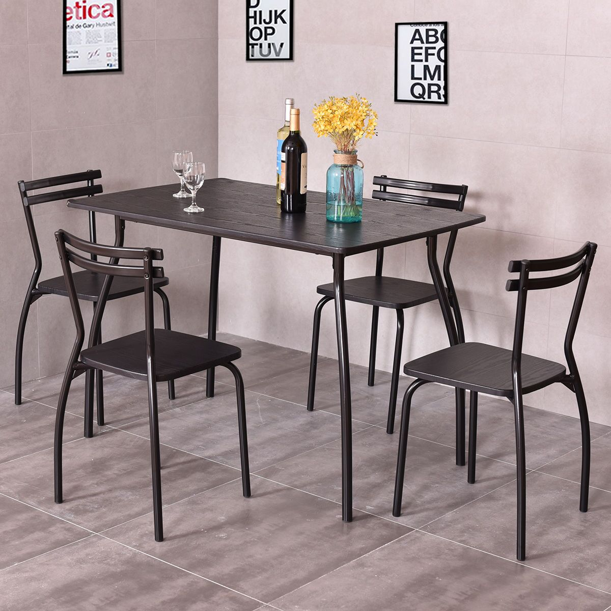 Mulvey 5 Piece Dining Set