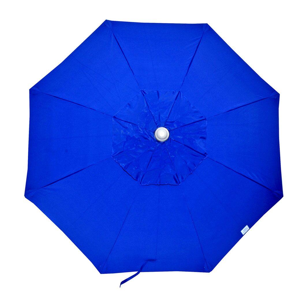Randy 7.5' Market Umbrella Opening Mechanism: Integrated Pole
