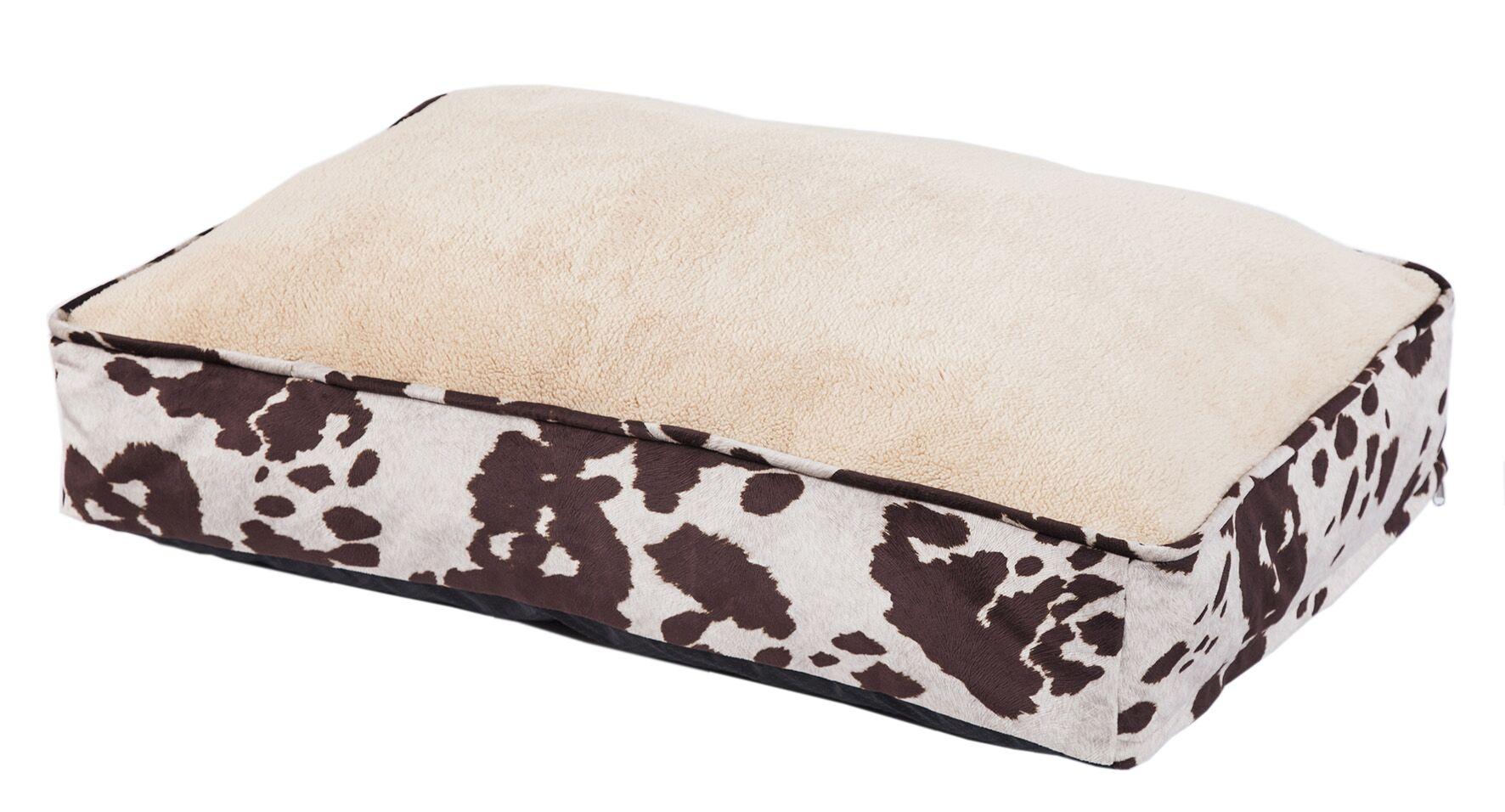 Tessie Cowhide Pattern Dog Pillow