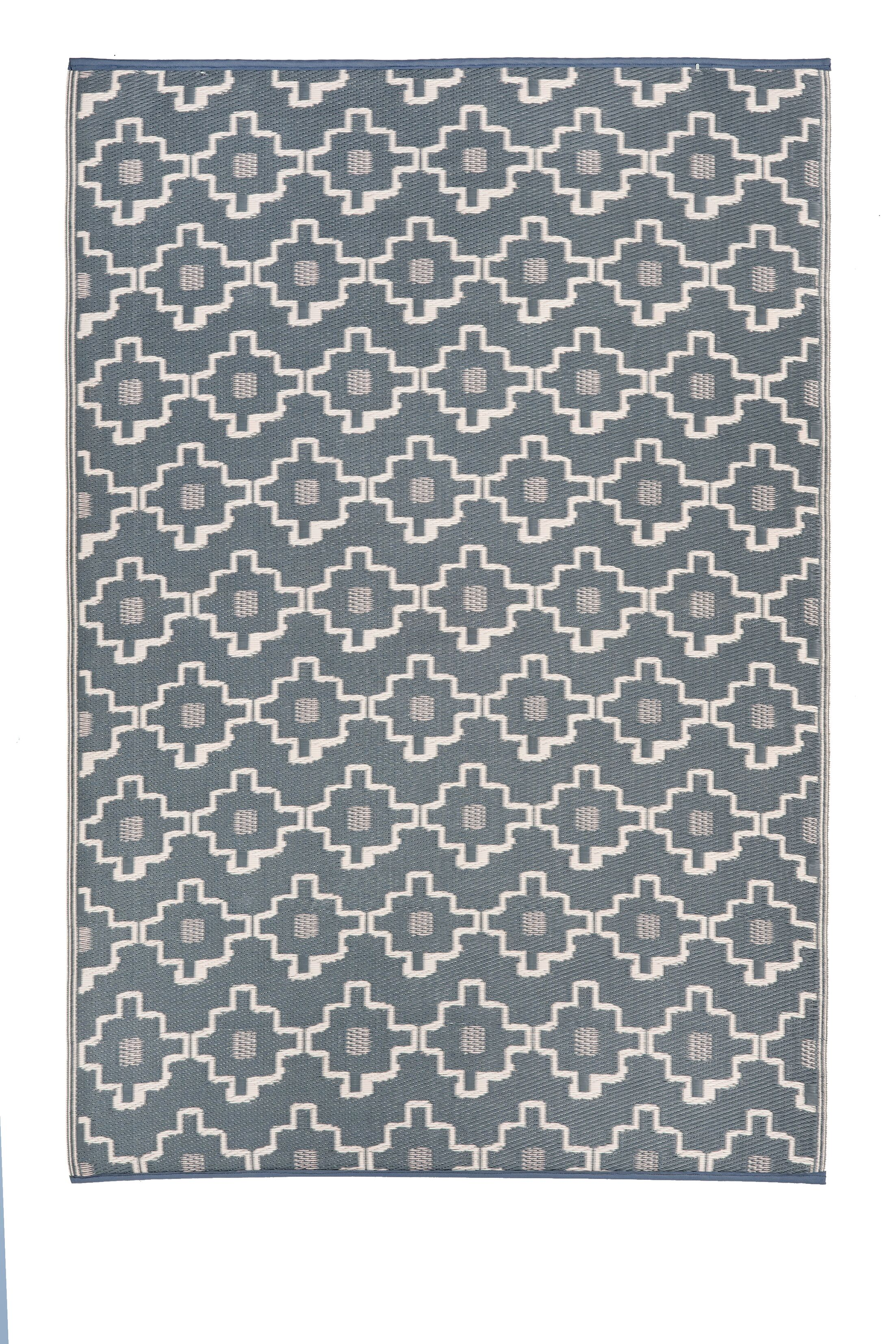 Duddy Gray/Beige Indoor/Outdoor Area Rug Rug Size: Rectangle 5' x 8'