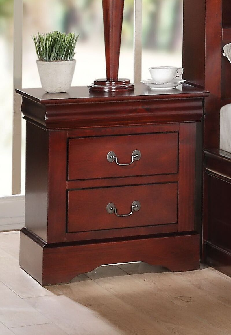 Wysocki 2 Drawer Nightstand Color: Cherry
