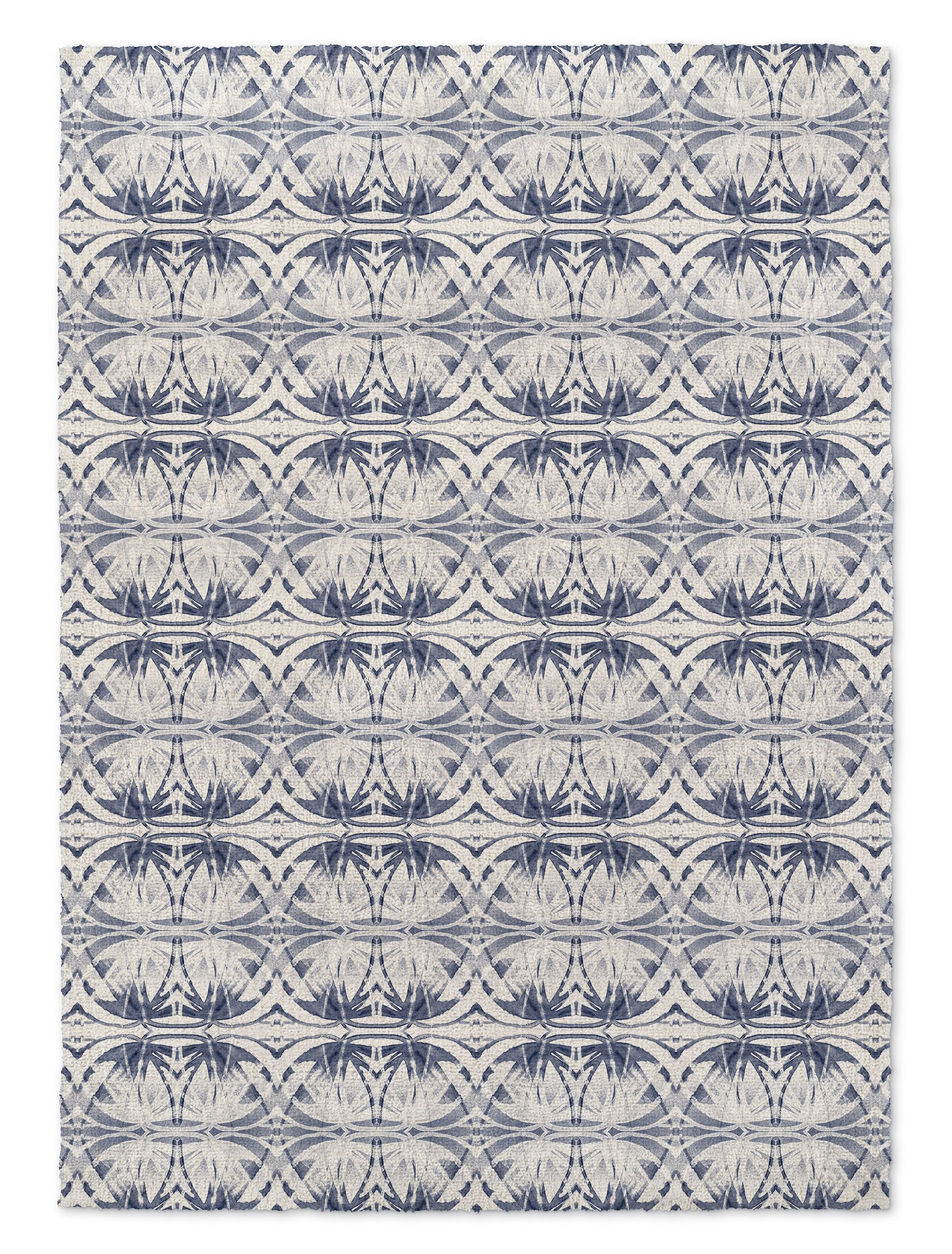 Harty Gray Area Rug Size: Rectangle 2' x 3'
