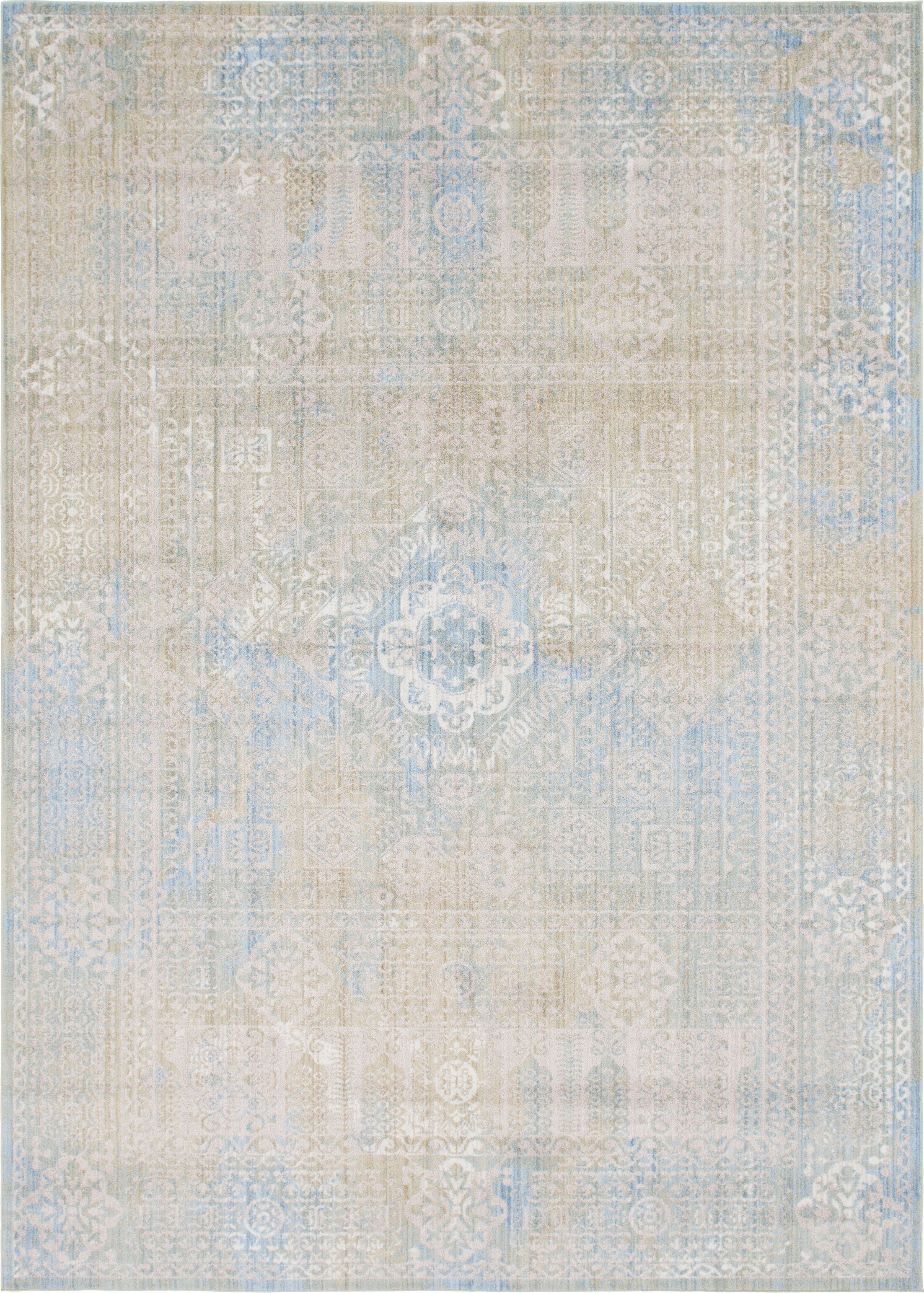 Gomez Ivory Area Rug Rug Size: Rectangle 10' x 14'