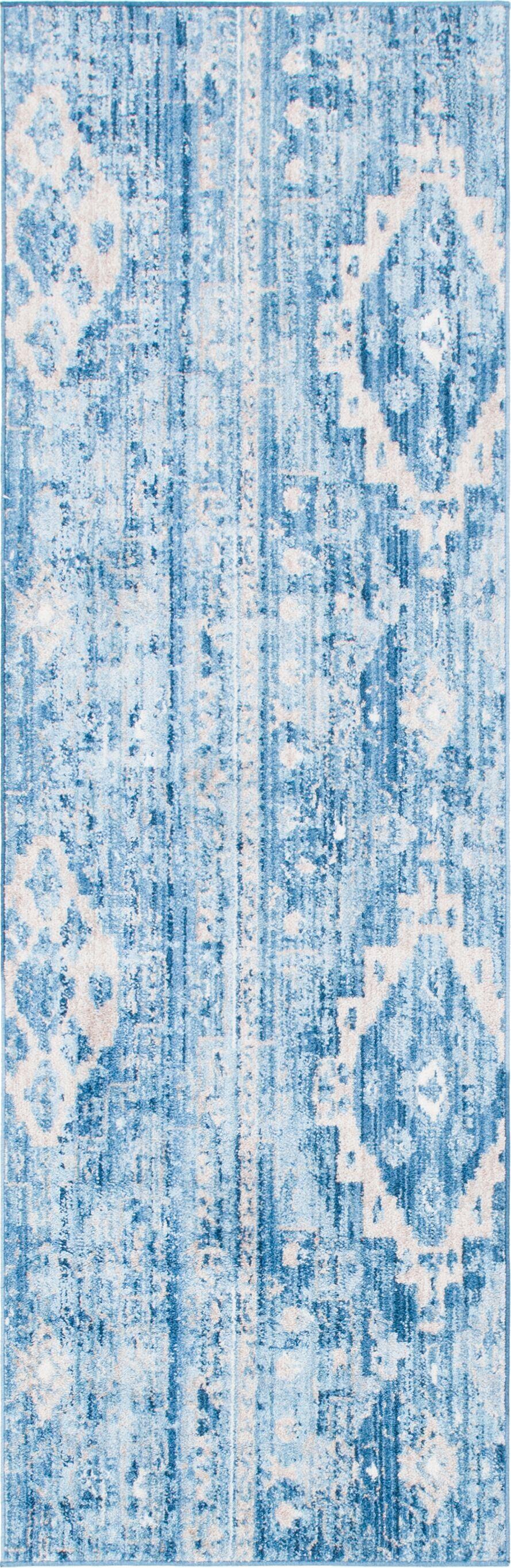 Bearden Blue Area Rug Rug Size: Runner 2'7