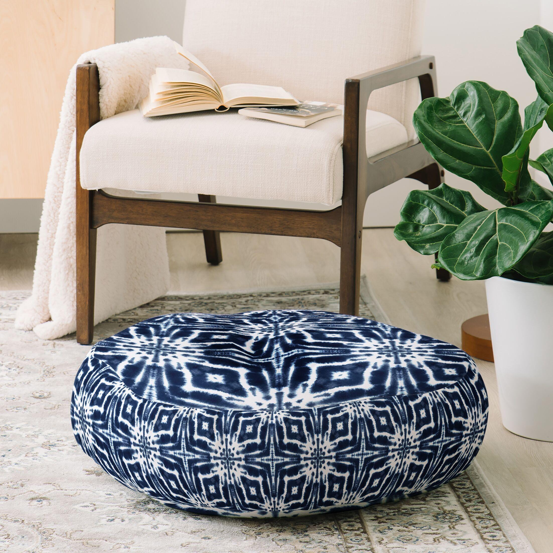 Jacqueline Maldonado Shibori Floor Pillow