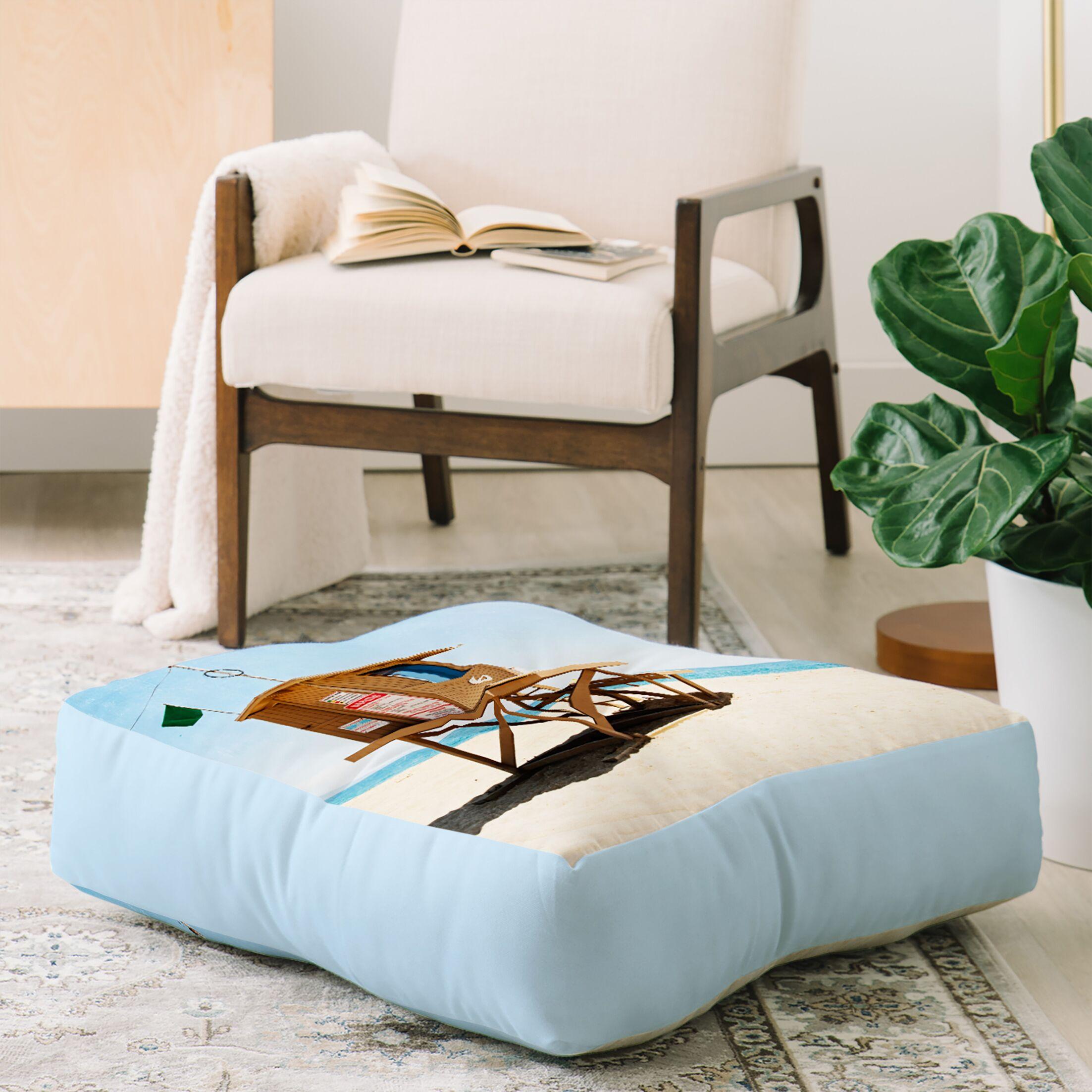 Bree Madden Newport Beach Floor Pillow