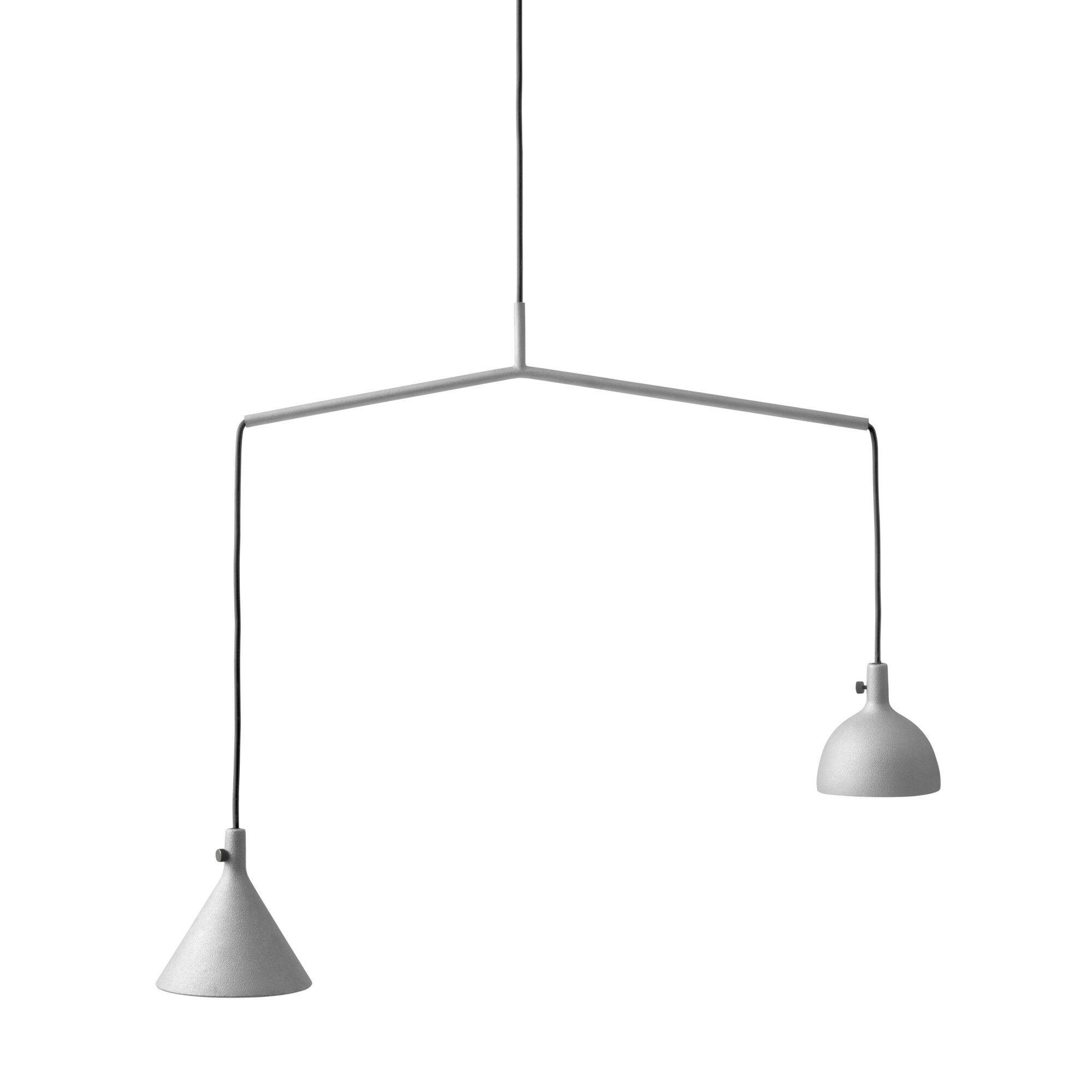 2-Light Kitchen Island Pendant