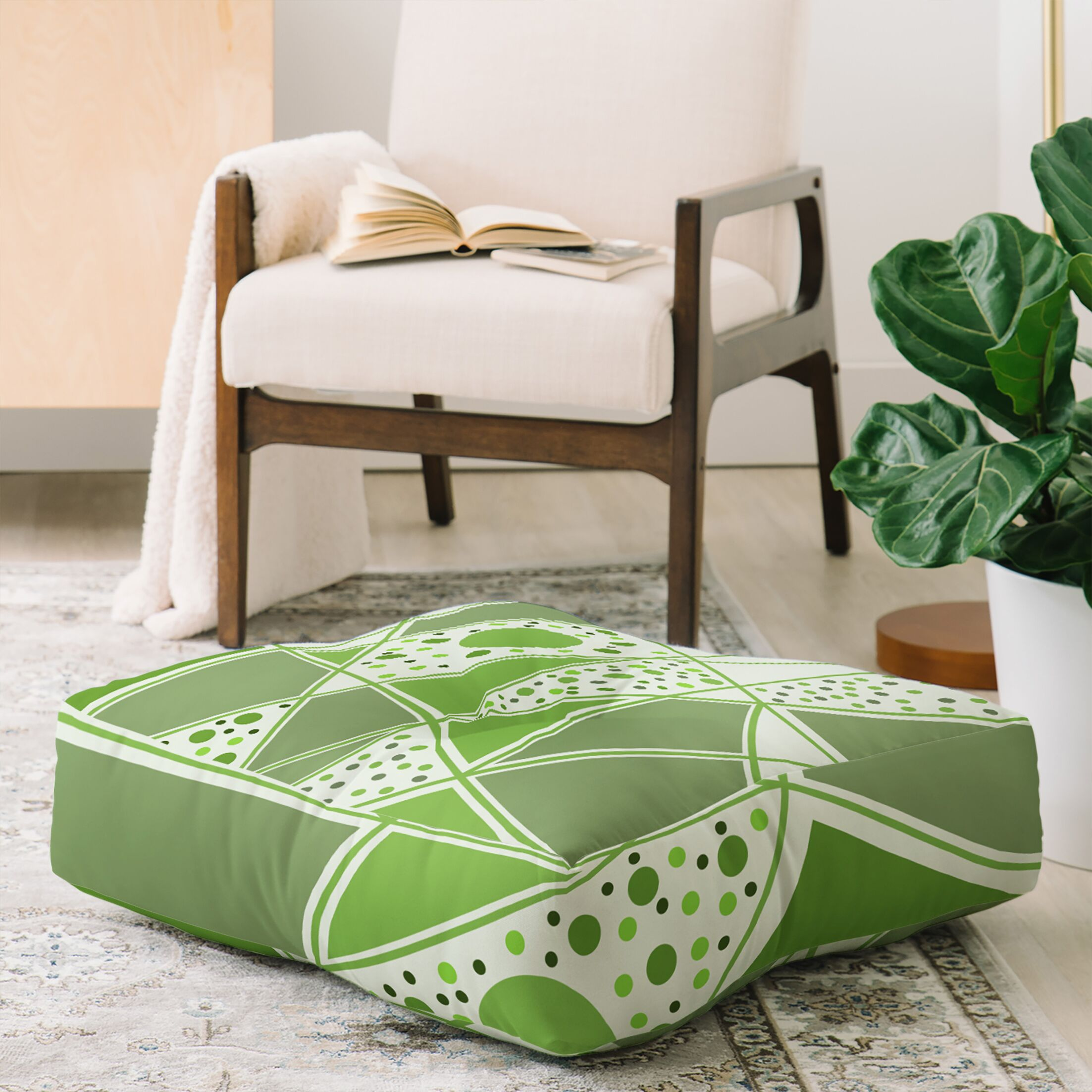 Viviana Gonzalez Sensation Floor Pillow