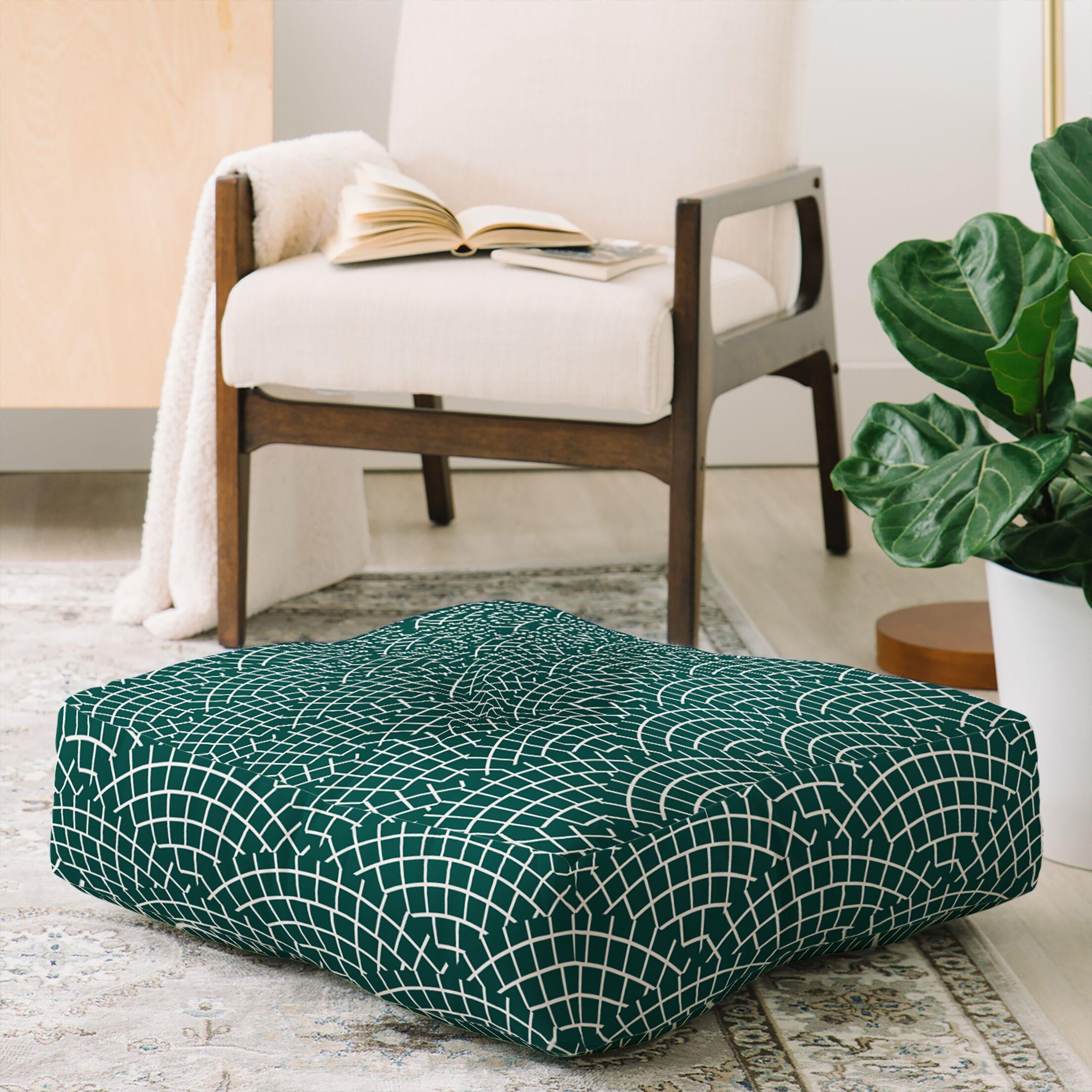 Holli Zollinger Mosaic Scallop Floor Pillow