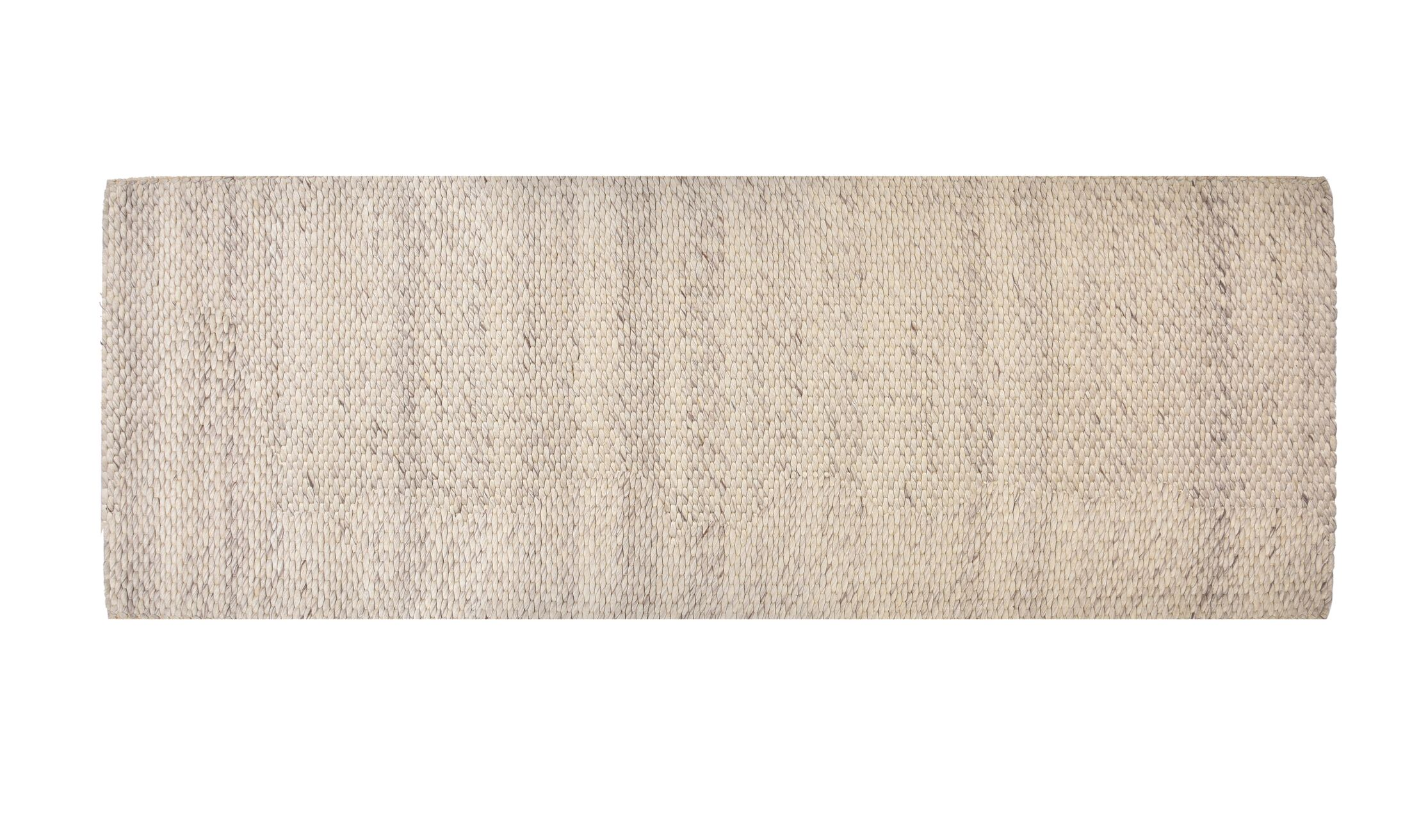 Coto Hand-Woven Wool Birch Area Rug Rug Size: Runner 2' x 6'